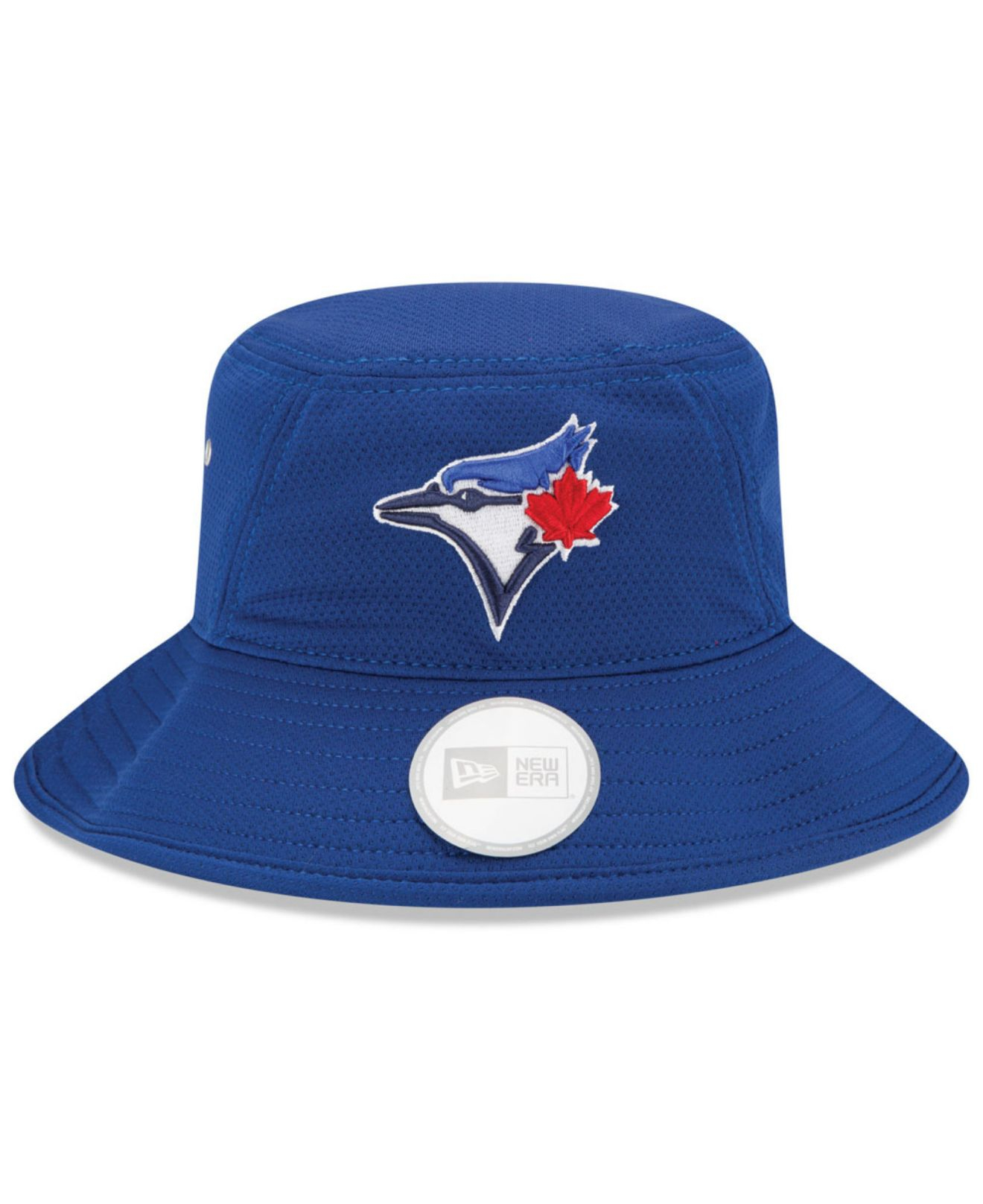 25e14c4eb76 ... new era 2018 mlb all star workout on field low profile 59fifty fitted hat  navy 02e26 a91eb  coupon for lyst ktz toronto blue jays team redux bucket  hat ...