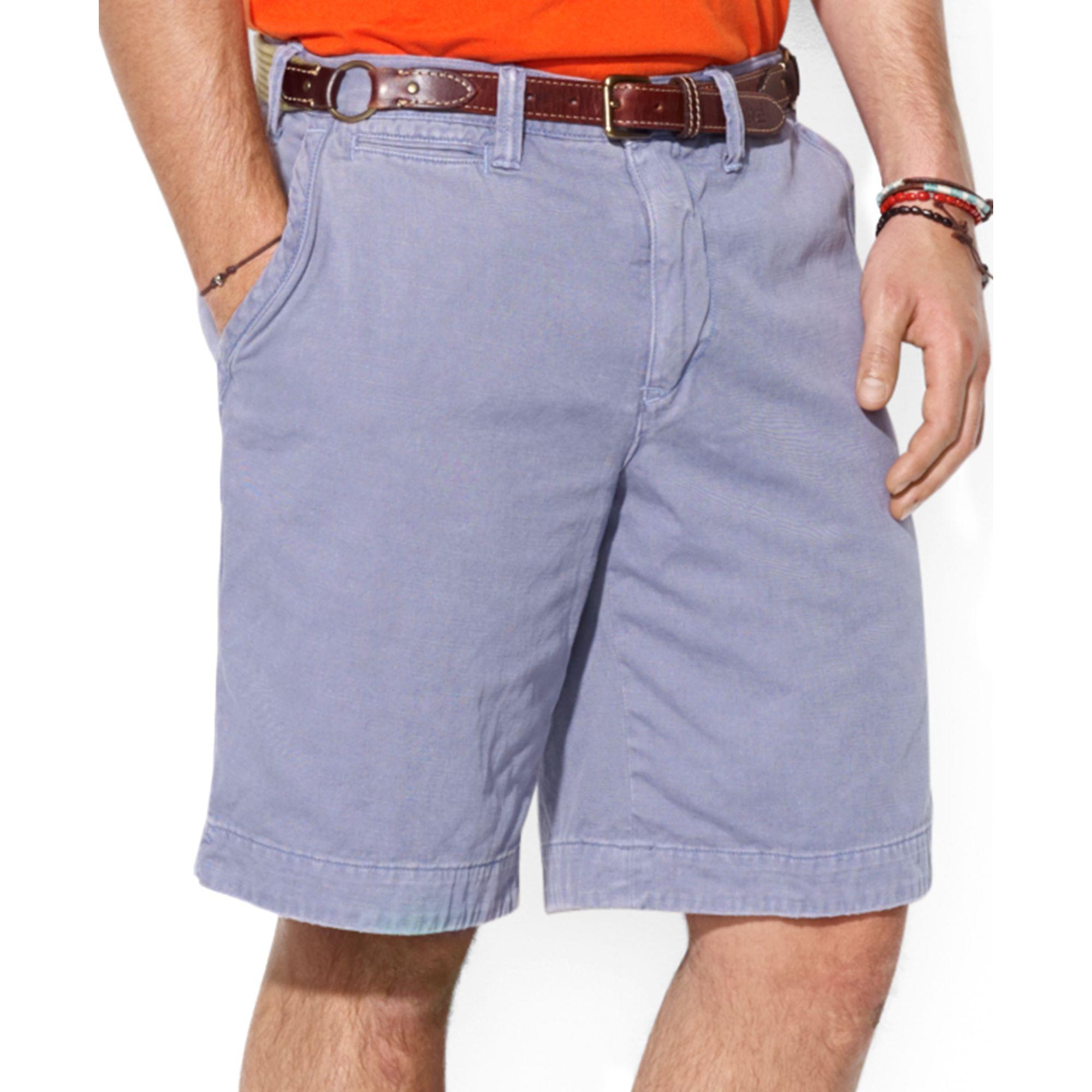 2e4812878a170 Lyst - Ralph Lauren Polo Relaxed Fit Rugged Bleecker Shorts in ...