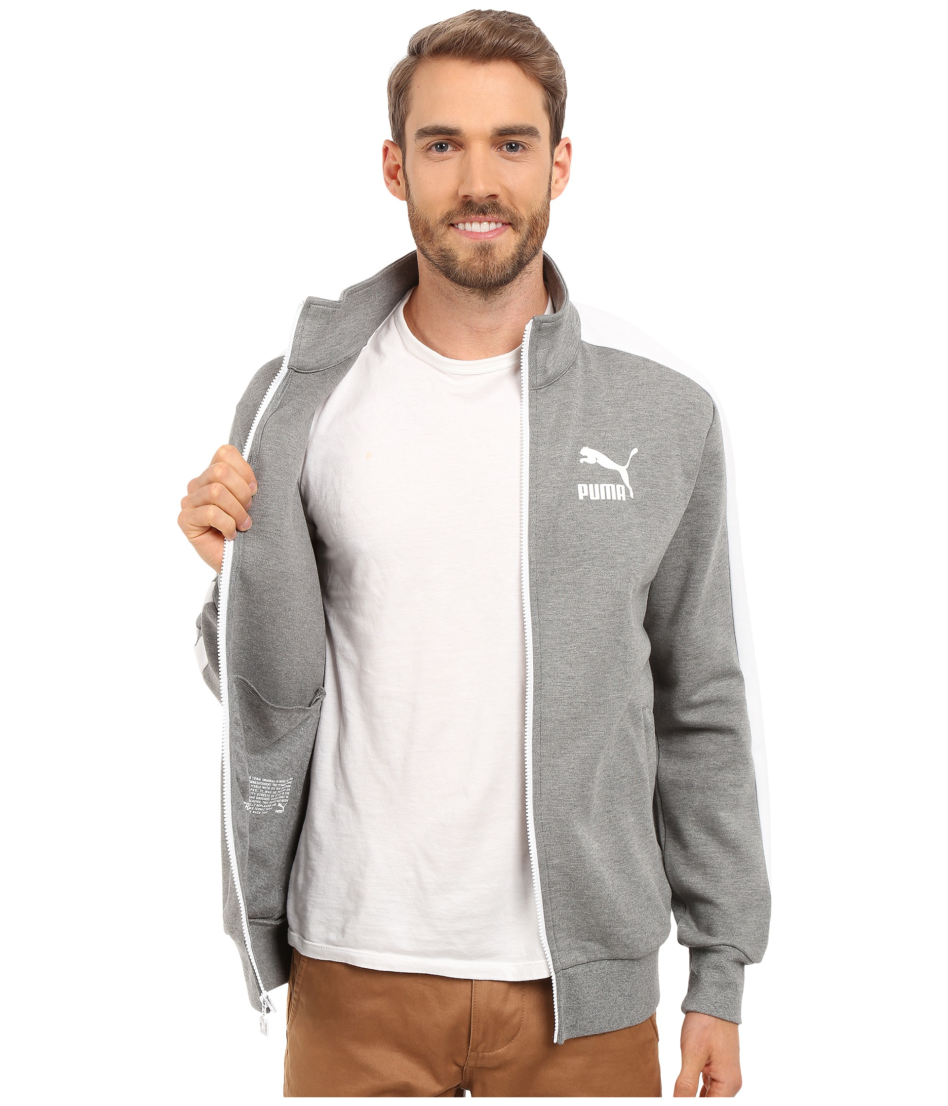 T7 Archive in Puma Gray Lyst for Jacket Men Track qE6B5