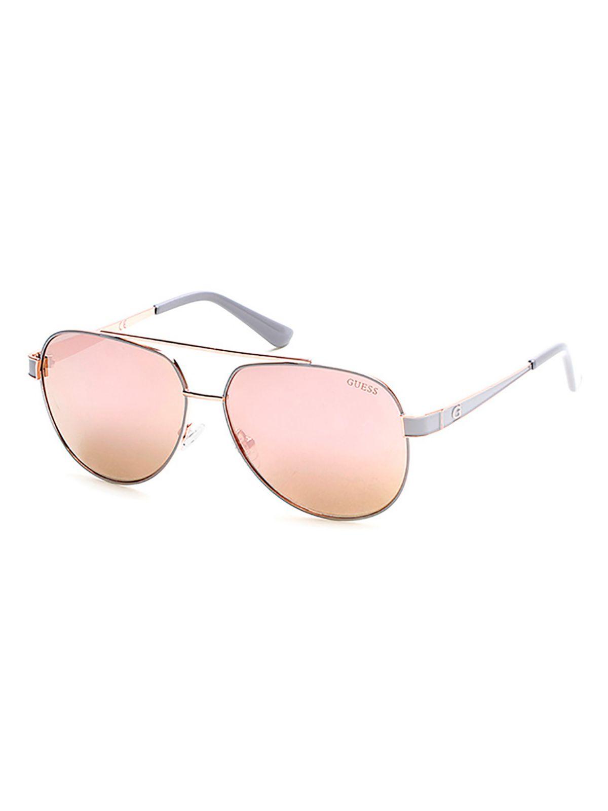 Guess Aviator Sunglasses Gold