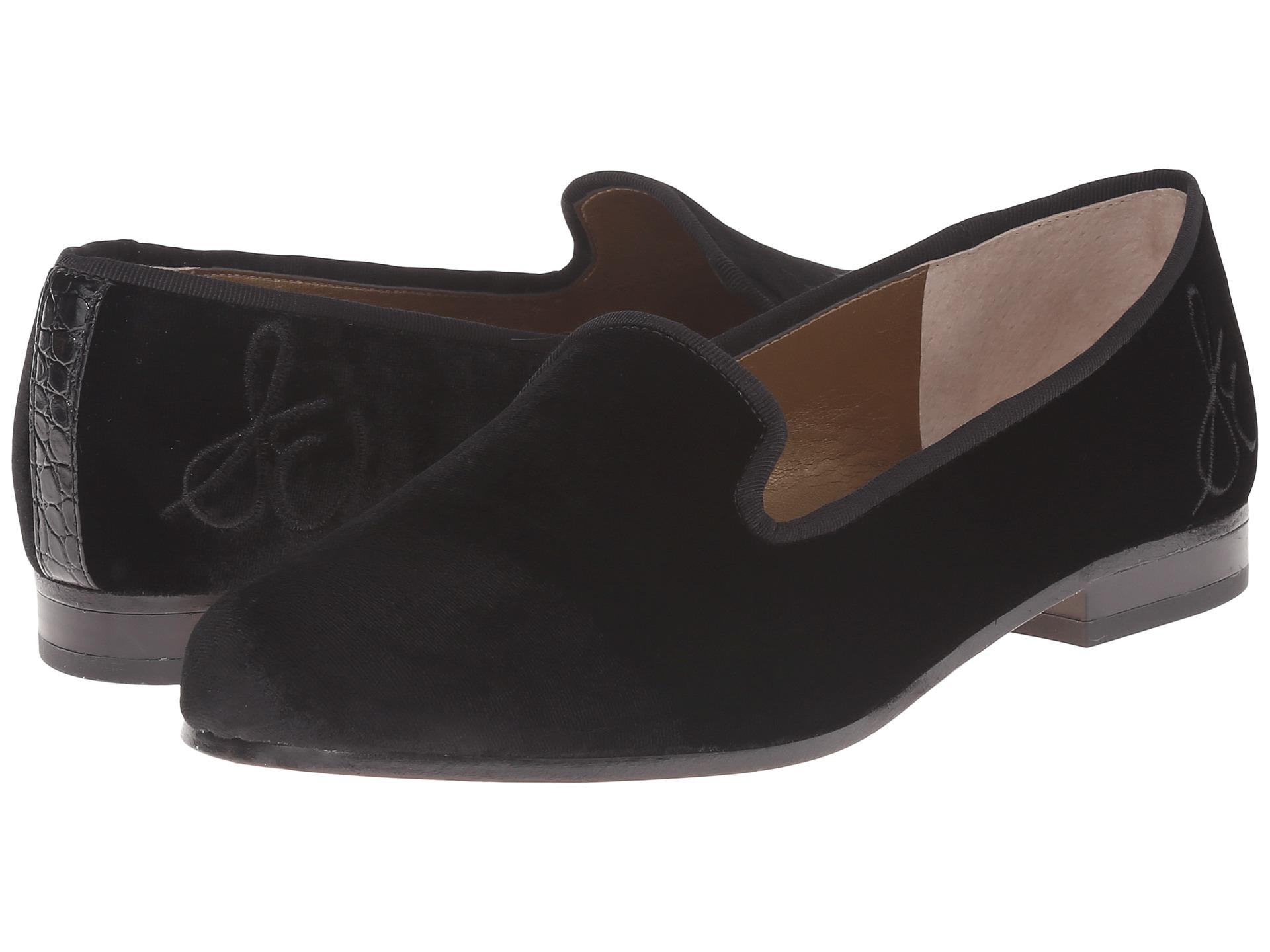 Womens Shoes Sam Edelman Hurlie Black Kid Suede