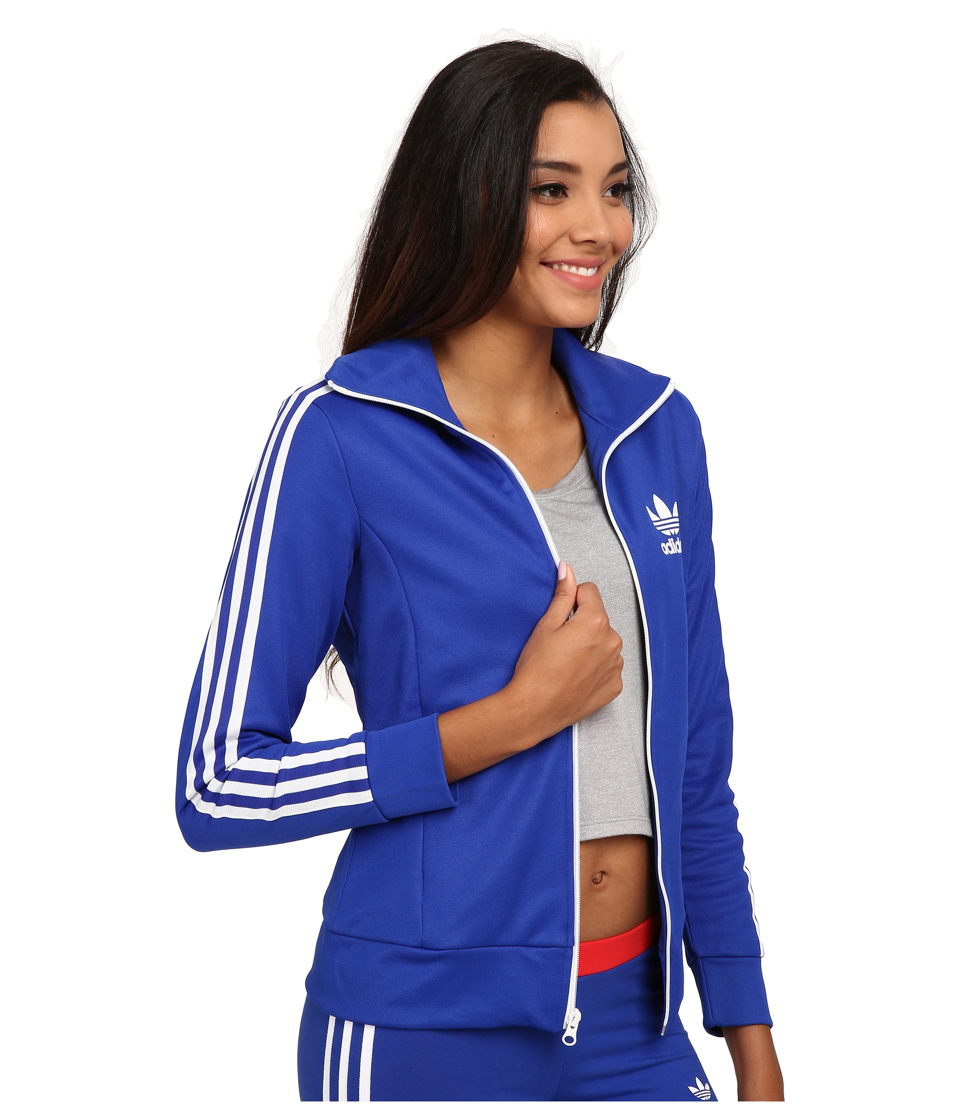 online store fe96a f1538 Originals Lyst Europa Blue Top Adidas In Track Hq4TwP5q