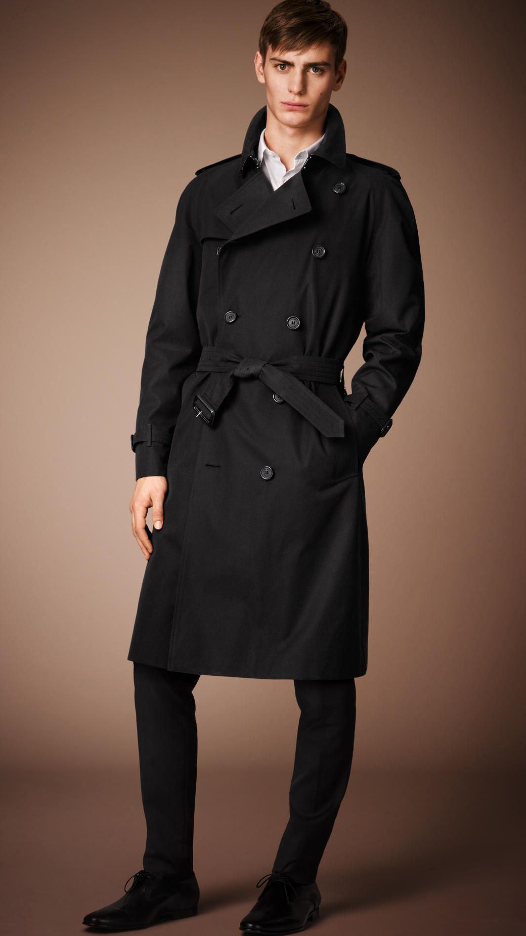 Lyst Burberry The Westminster Long Heritage Trench