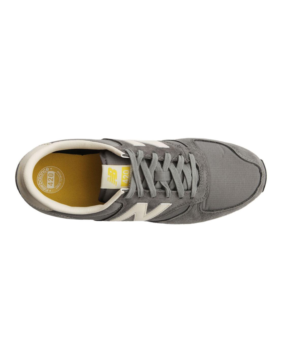new balance 420 grey yellow