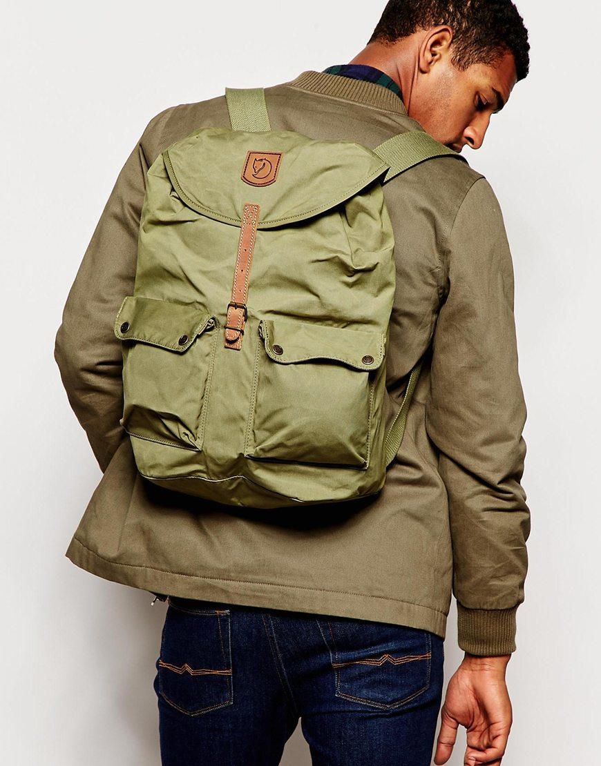 e9d83e284 Fjallraven Greenland Backpack in Green for Men - Lyst