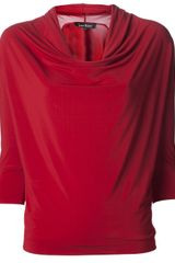 Lida Baday Ruched Top - Lyst