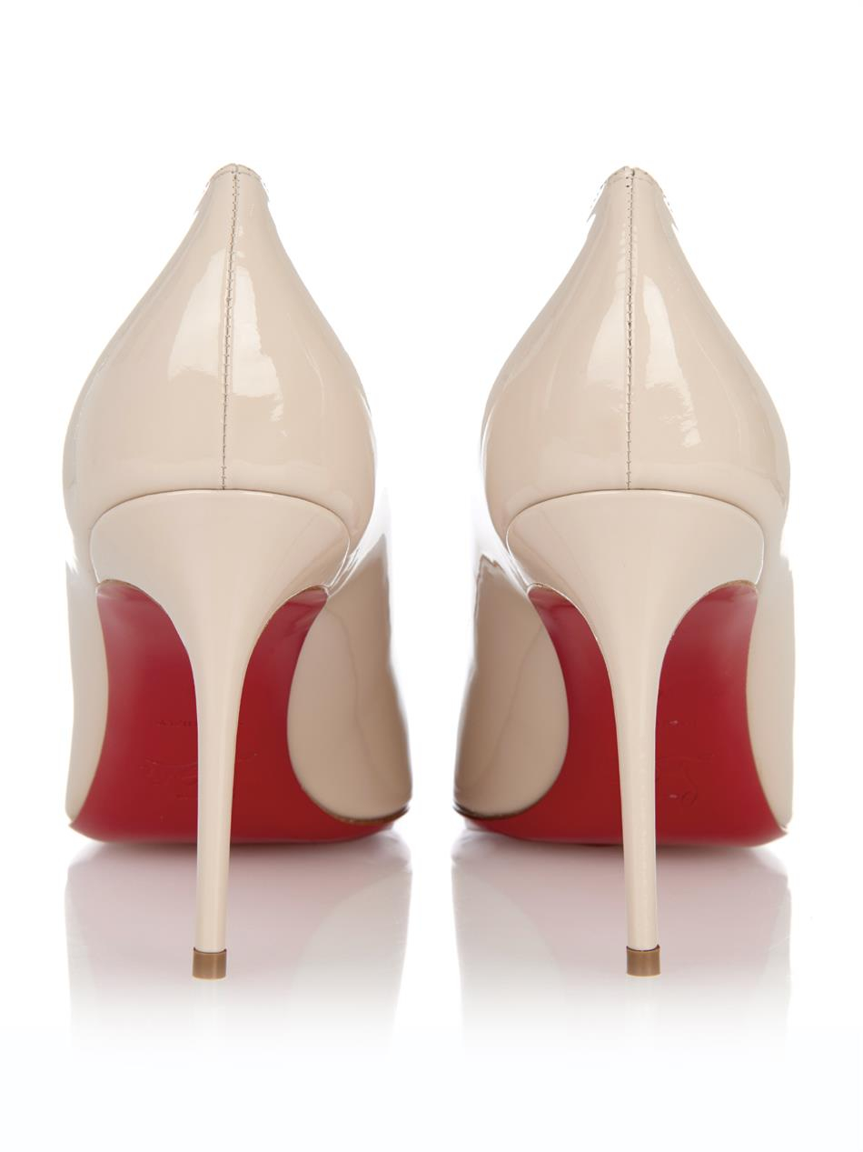 replicas shoes for men - Christian louboutin Fifi 85Mm Pumps in Beige (Neutral) | Lyst
