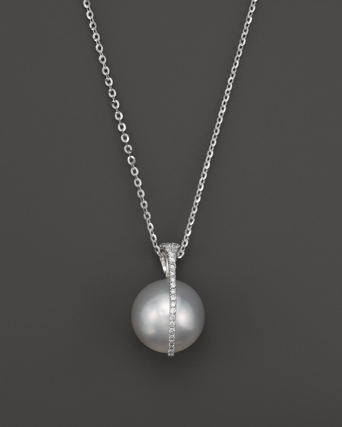 "Tara pearls 15"" in Silver (White) 