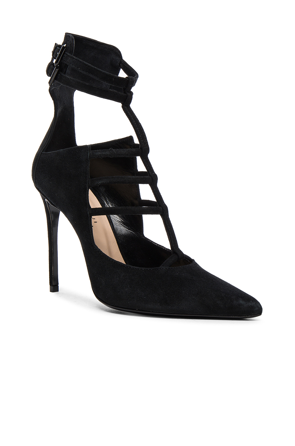 Barbara Bui Suede Pointed-Toe Pumps for sale for sale uKKia