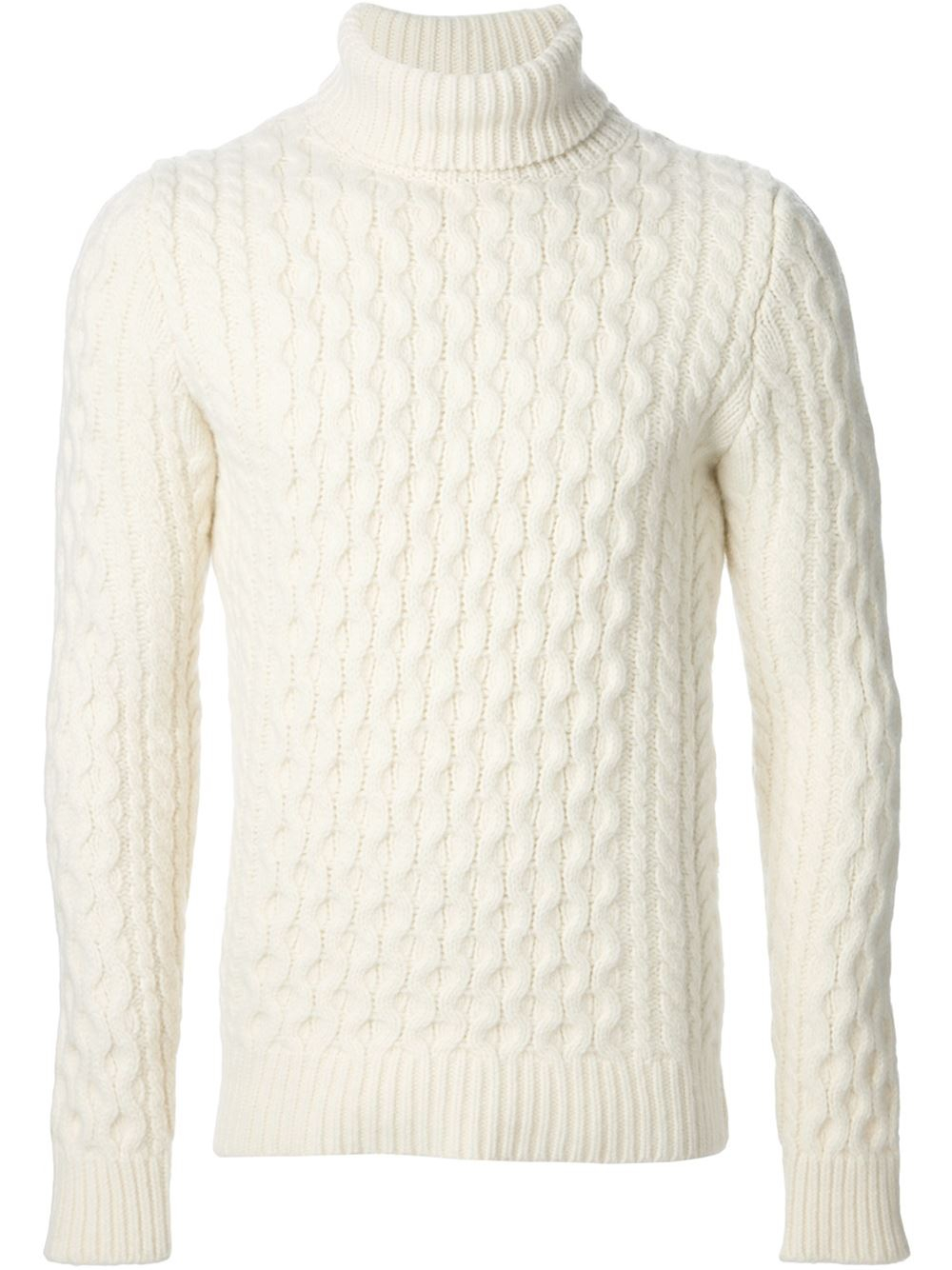 Mens Mock Neck Sweater