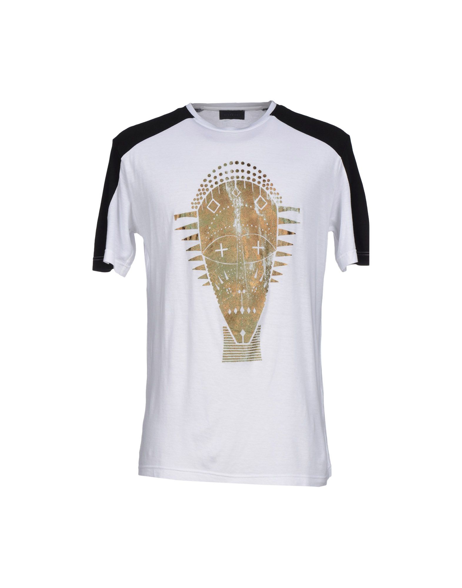 john richmond t shirt in white for men lyst