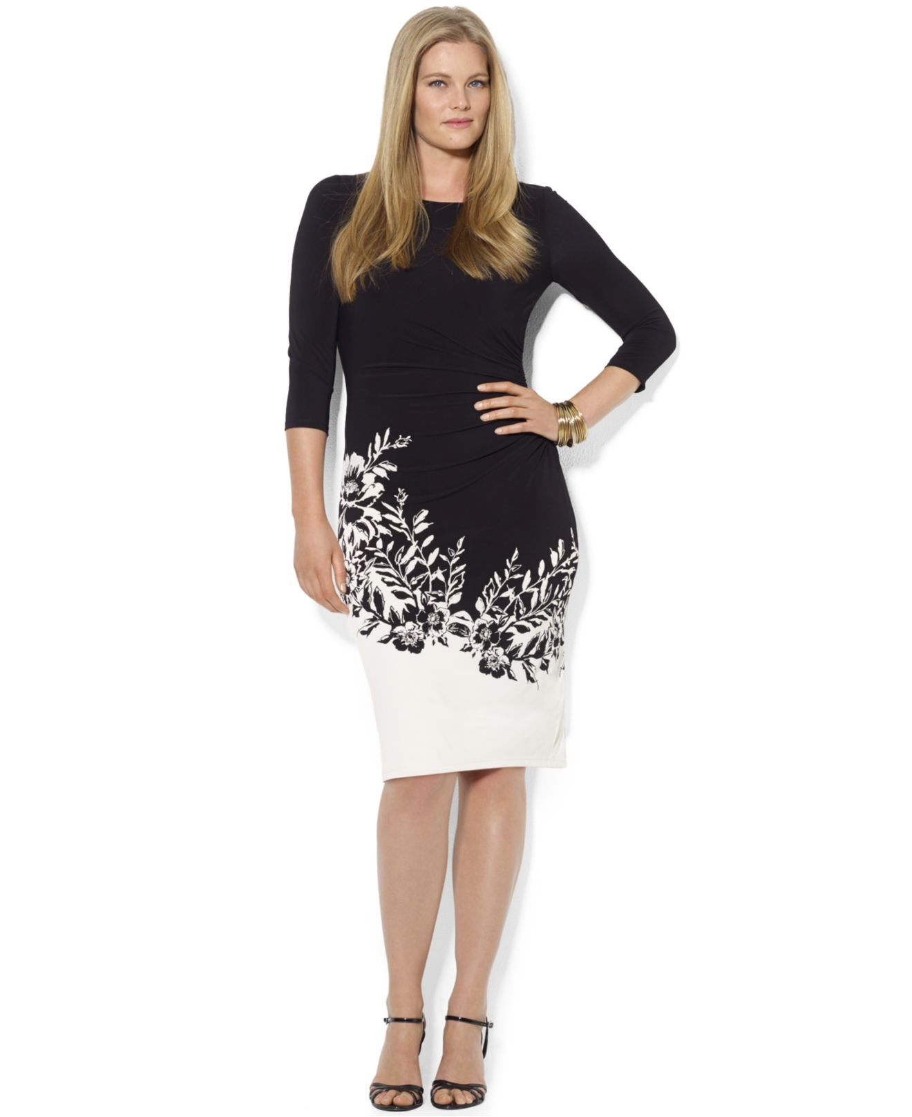 Lauren Ralph Lauren Väskor : Lyst lauren by ralph plus size three quarter