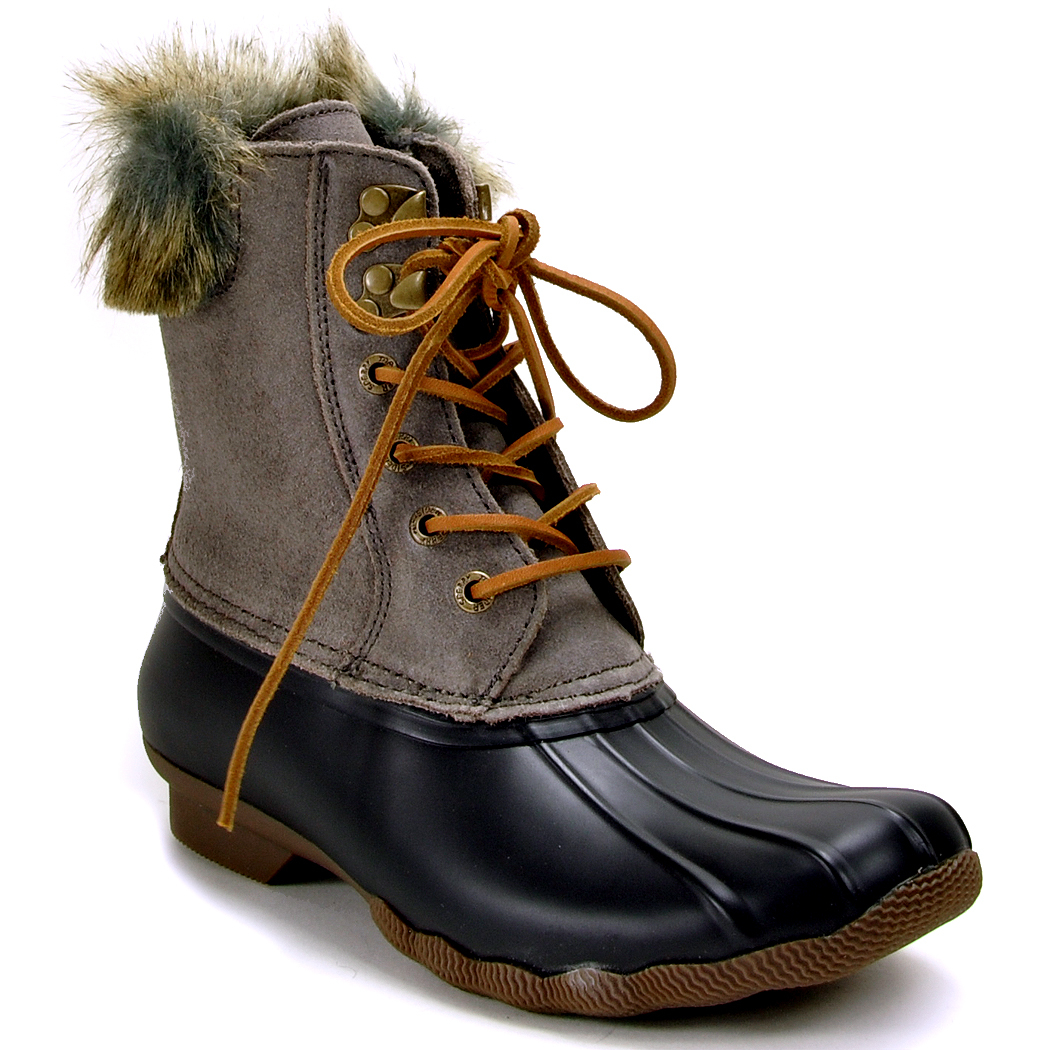 Luxury Sperry Womens Saltwater Duck Boot