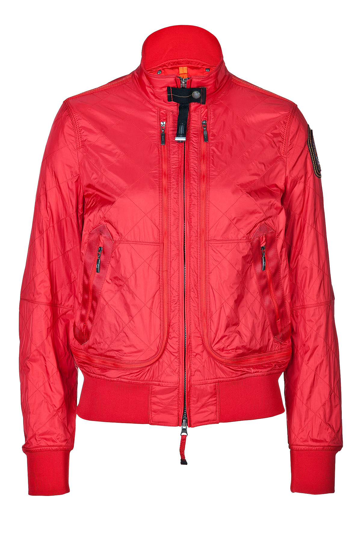 Lyst Parajumpers Gesteppte Daunenjacke Newport In Red