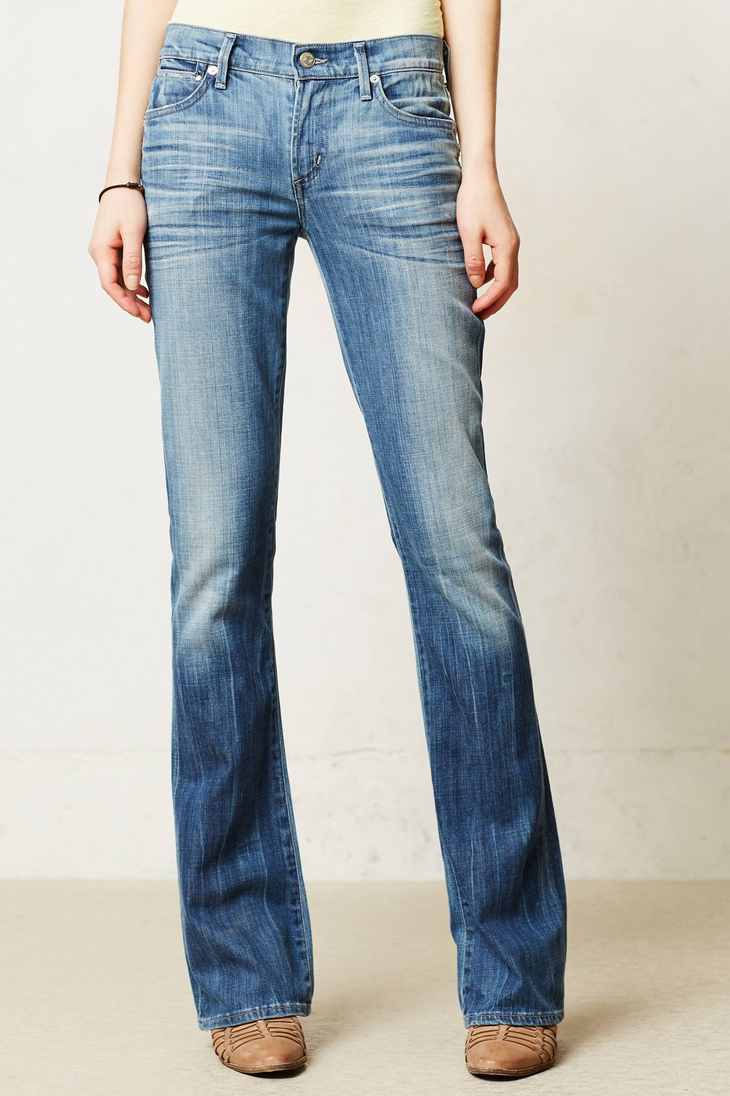 Emmanuelle slim boot cut jeans