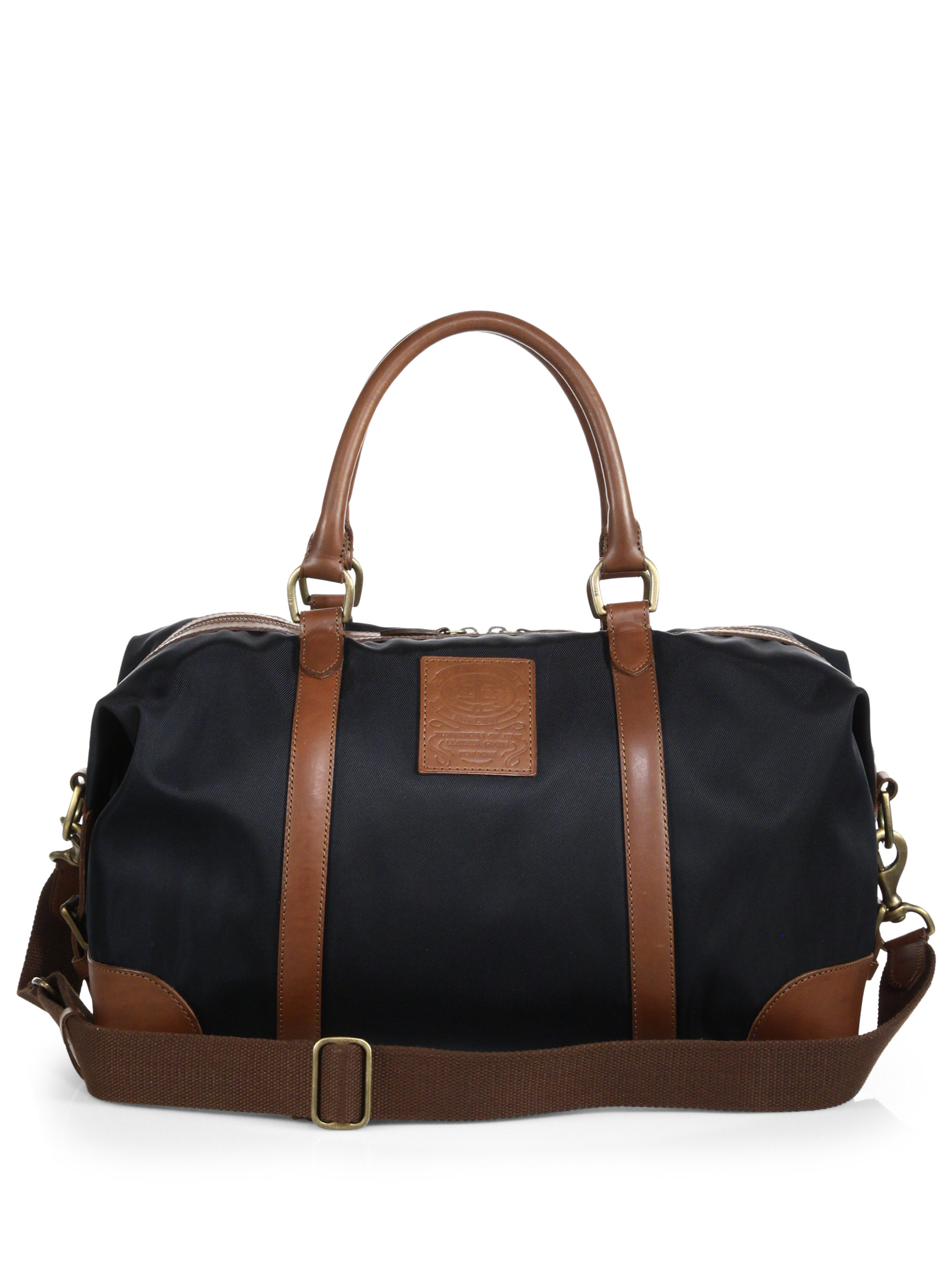 c8b1e600d038 Lyst - Polo Ralph Lauren Nylon Duffel Bag in Black for Men