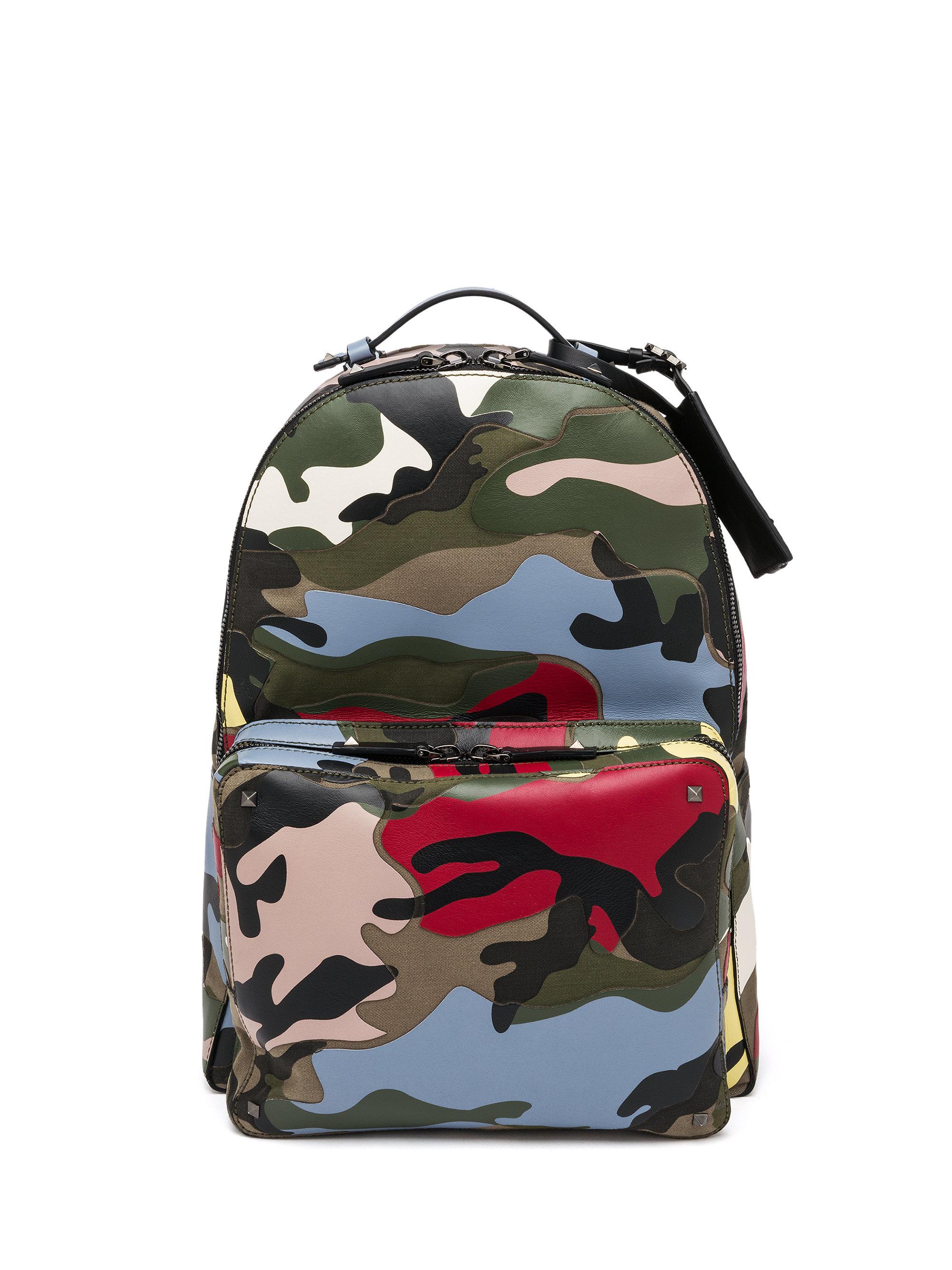 bcb3088590f3 Ralph Lauren Polo Patchwork Camo Canvas Backpack - shape.com