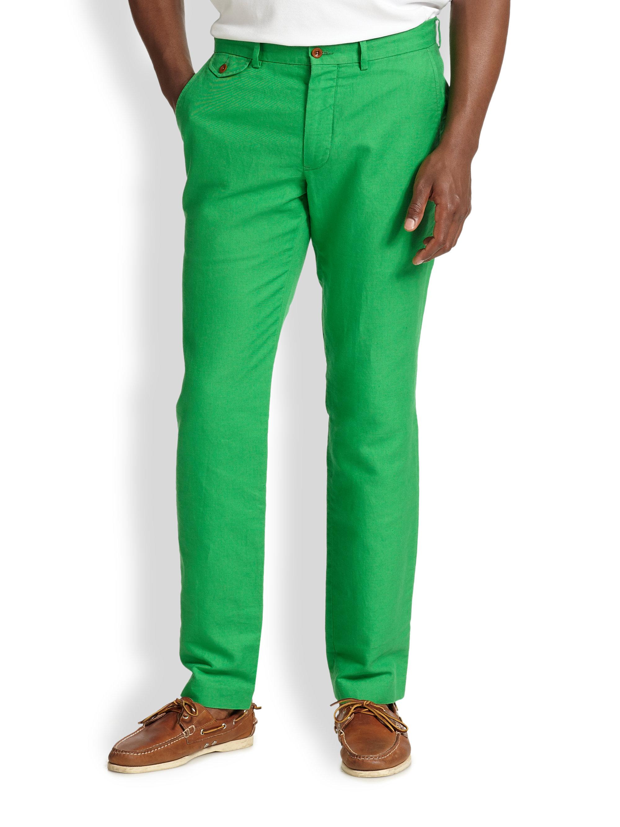 Linen Jeans Mens