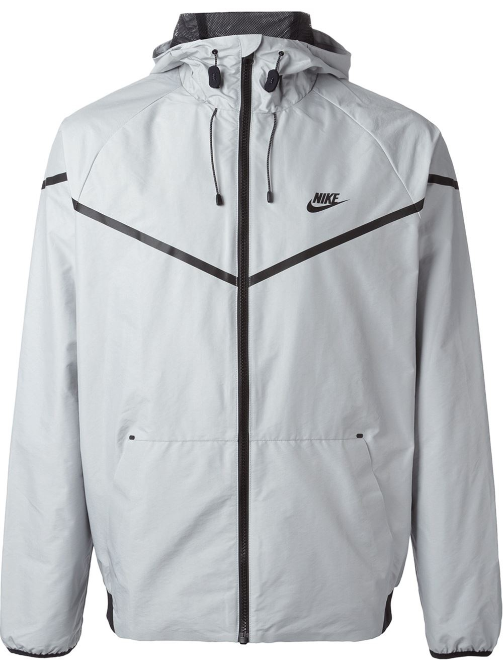 Lyst - Nike Tech Windrunner Jacket in Gray for Men 7b8bc9b67