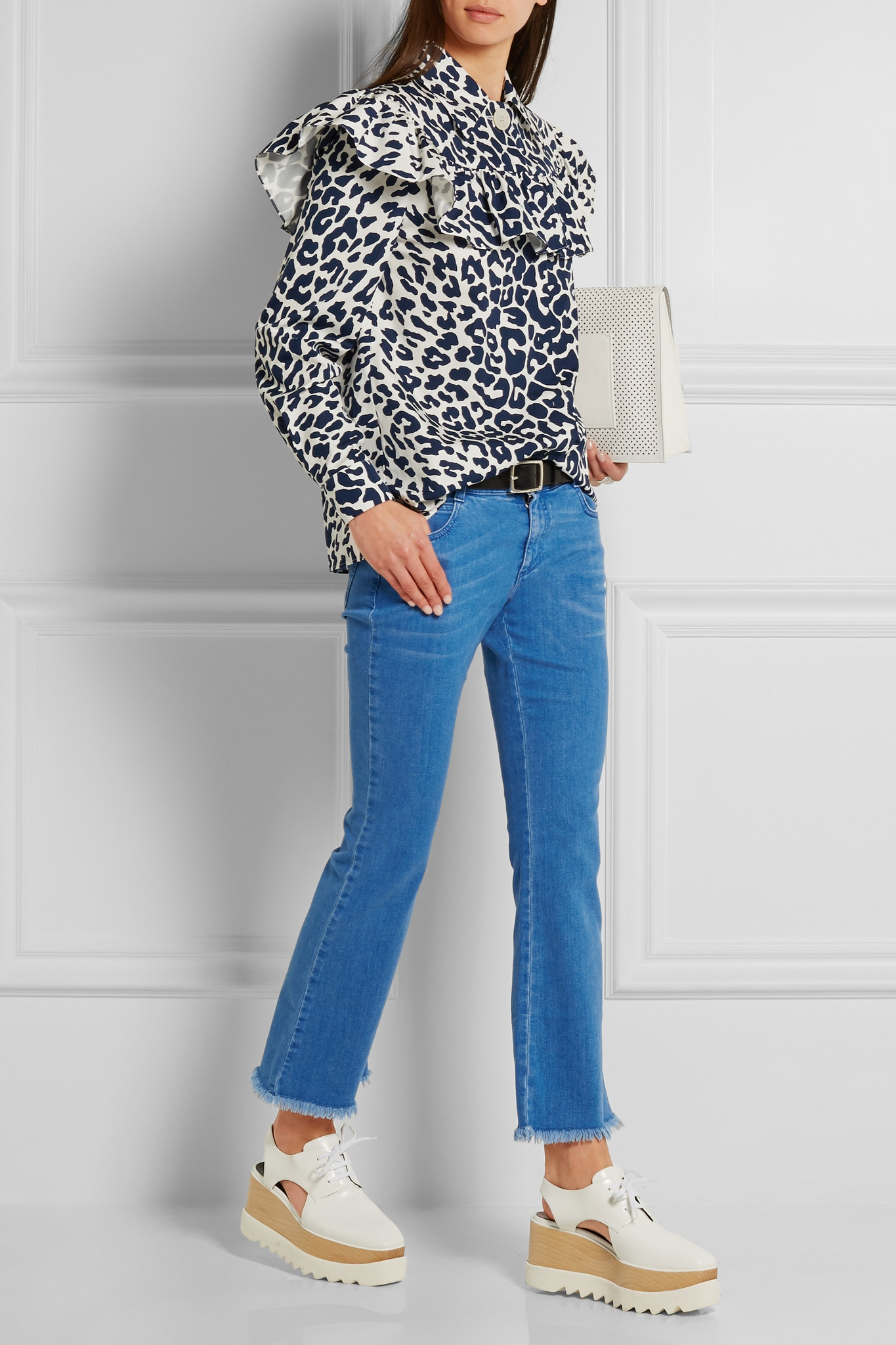 Stella Mccartney Woman Denim Loafers Mid Denim Size 39 Stella McCartney Kbz70DmqQ