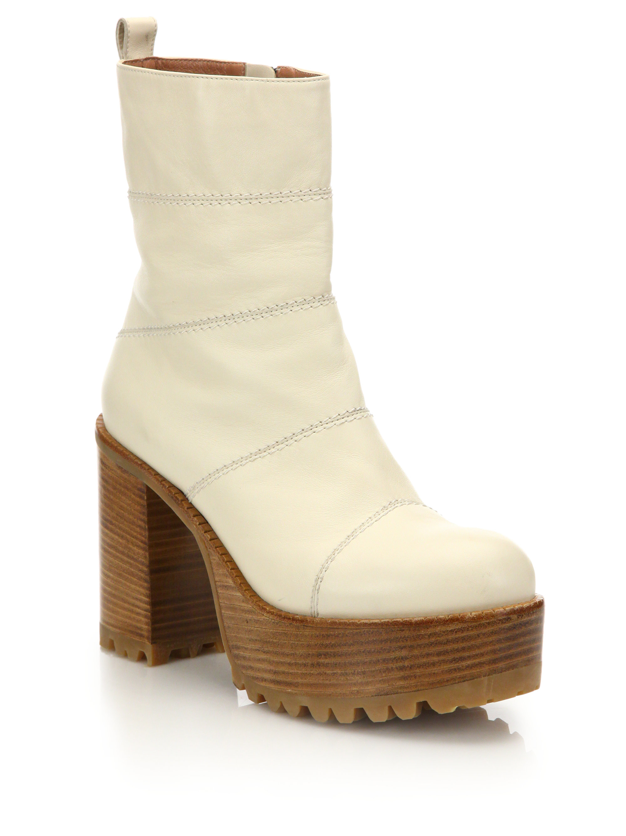 real sale online free shipping cost Marni Platform Leather Boots shopping discounts online classic online 49dk8IO