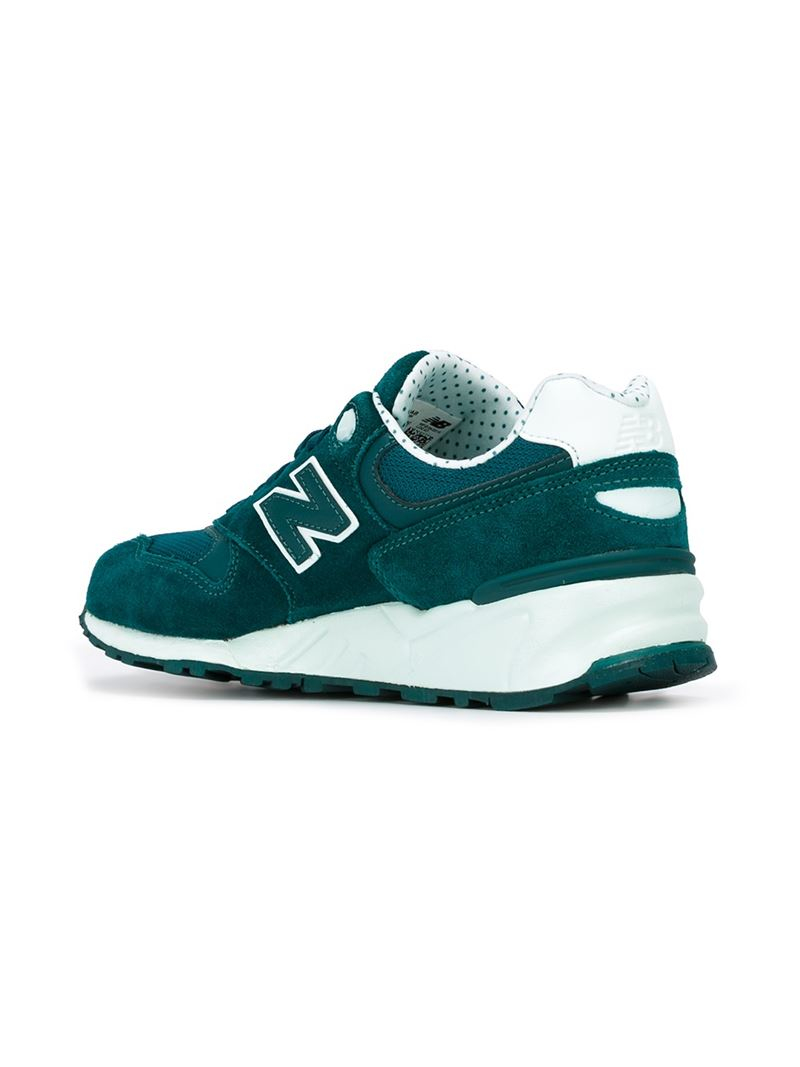 e3ec4625c823b New Balance '999 Elite' Sneakers in Green - Lyst