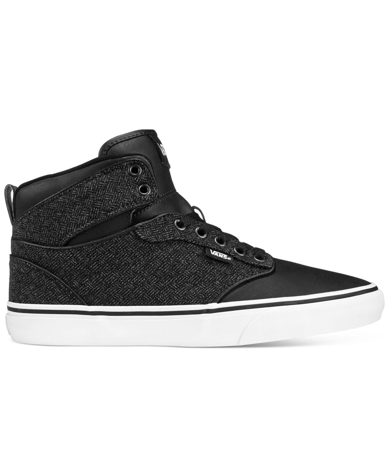 fa695c9595fab Lyst - Vans M Atwood Hi-top Sneakers in Black for Men