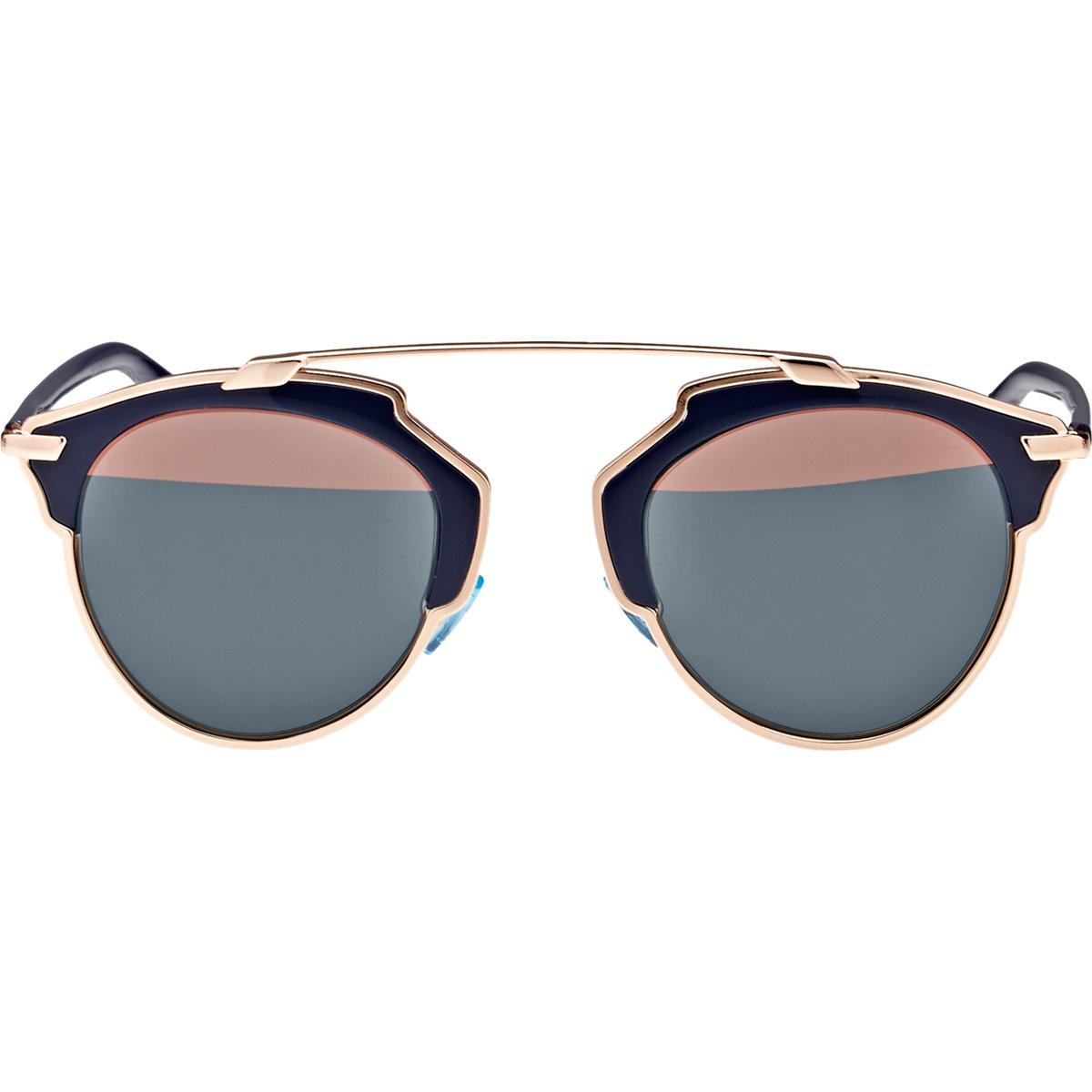 7223f752f7ec Lyst - Dior So Real Sunglasses in Metallic