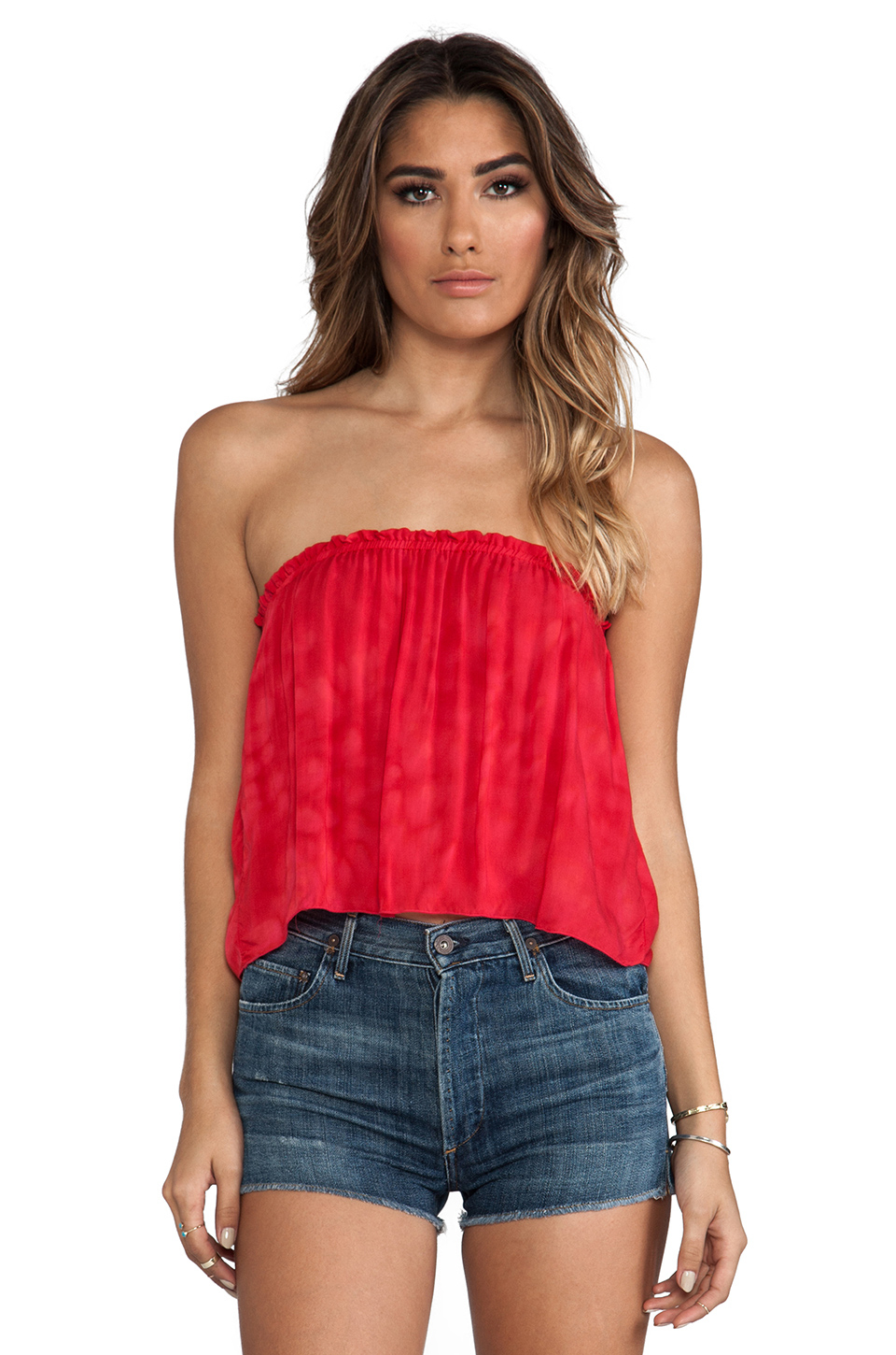 Indah Star Strapless Tube Top In Pink Lyst