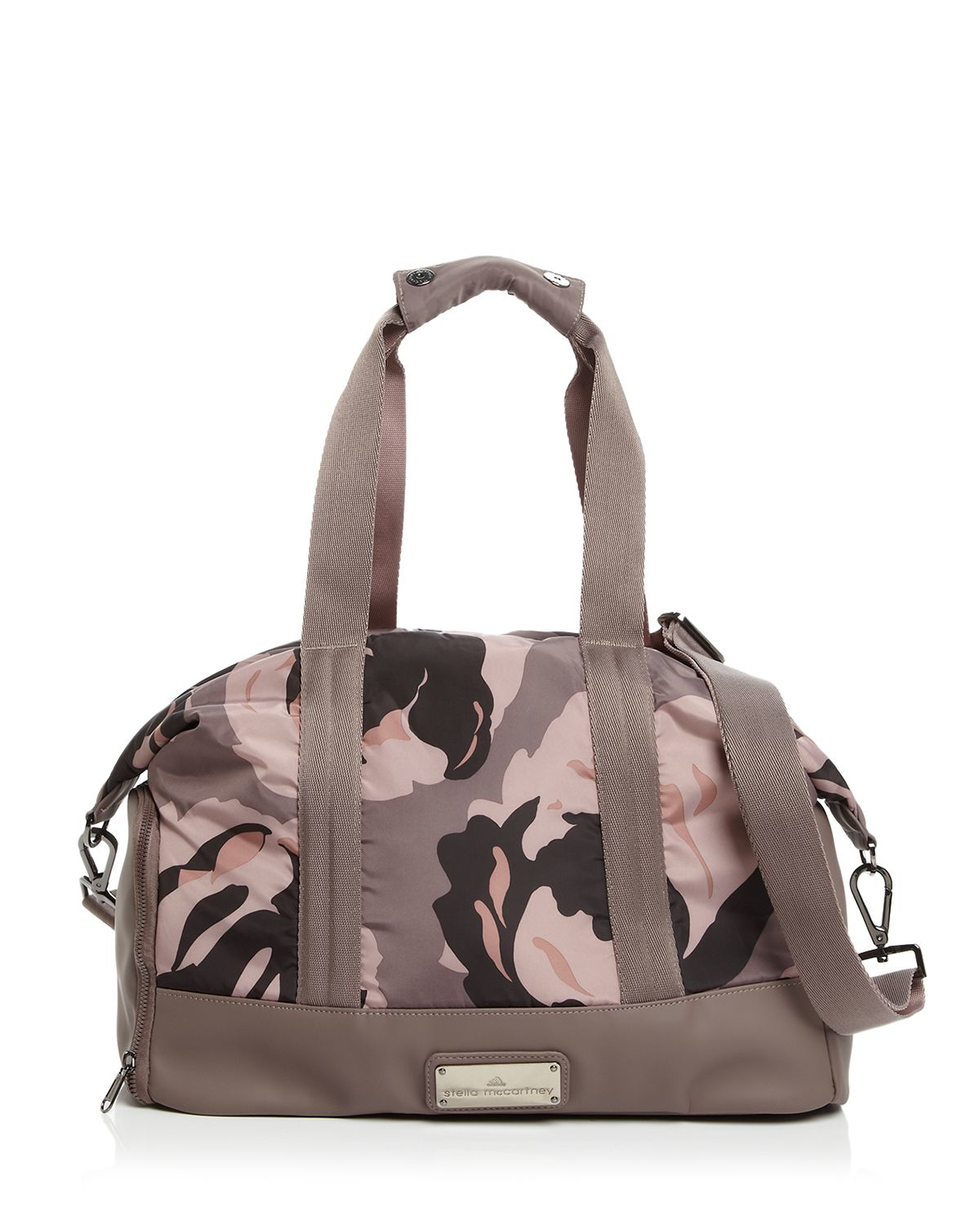 bb89ae1b9f Lyst - adidas By Stella McCartney Tote - Floral Camo Small Gym Bag ...