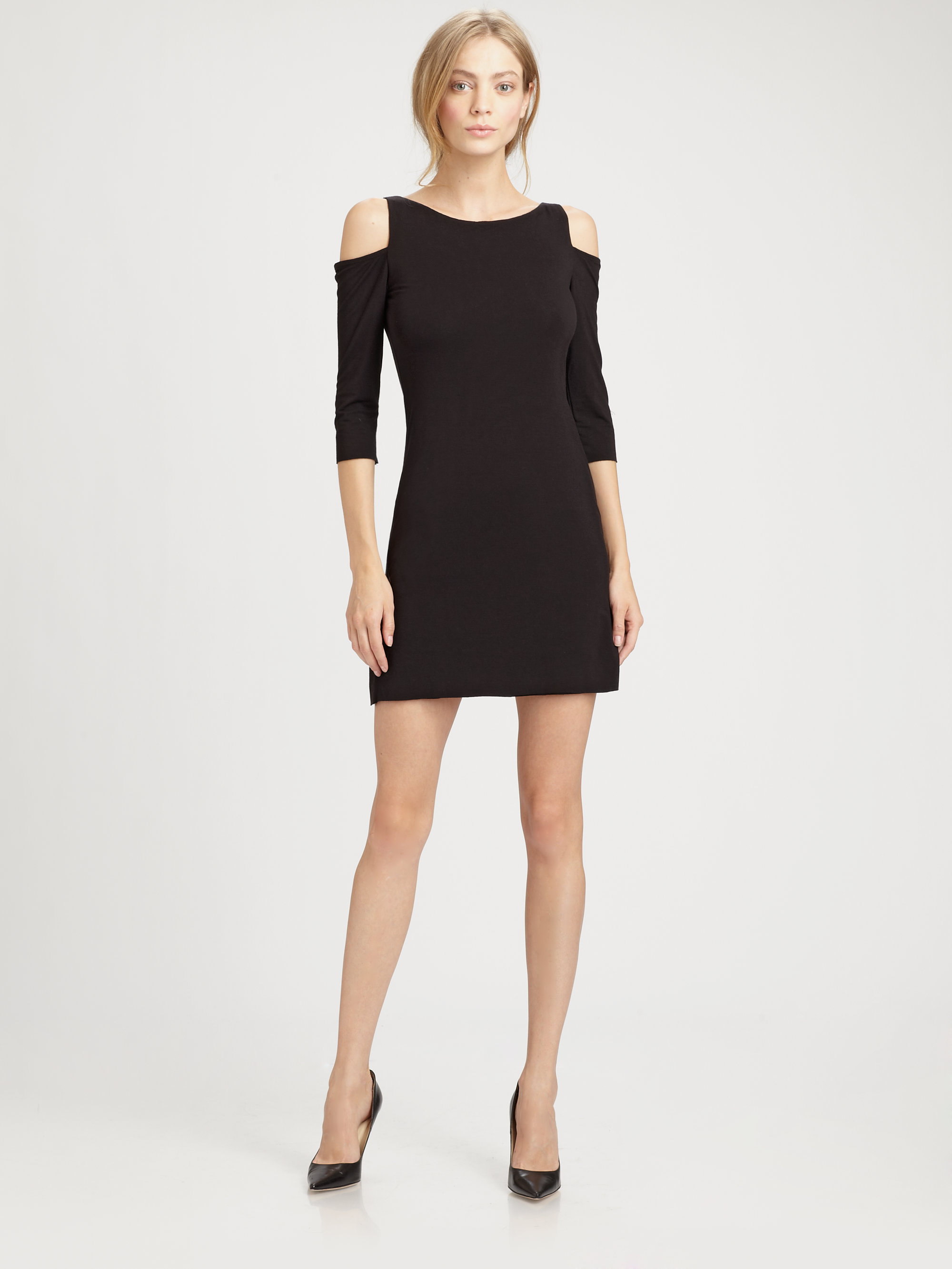 Bailey 44 black dress long sleeve