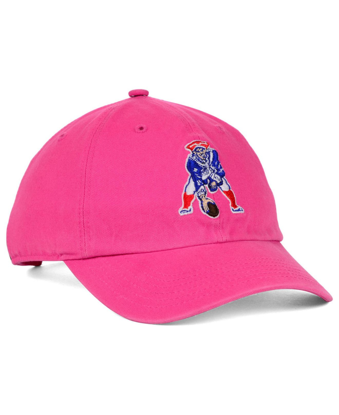 Lyst - 47 Brand Women S New England Patriots Berry Clean Up Cap in ... 68f34dea04
