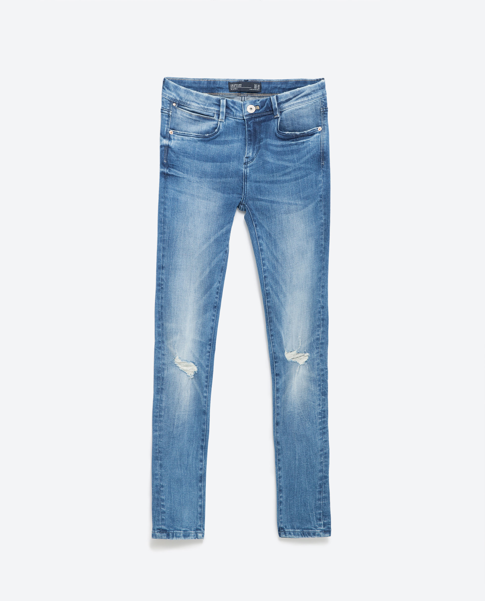 Fantastic Zara Wideleg Studio Trousers In Black  Lyst