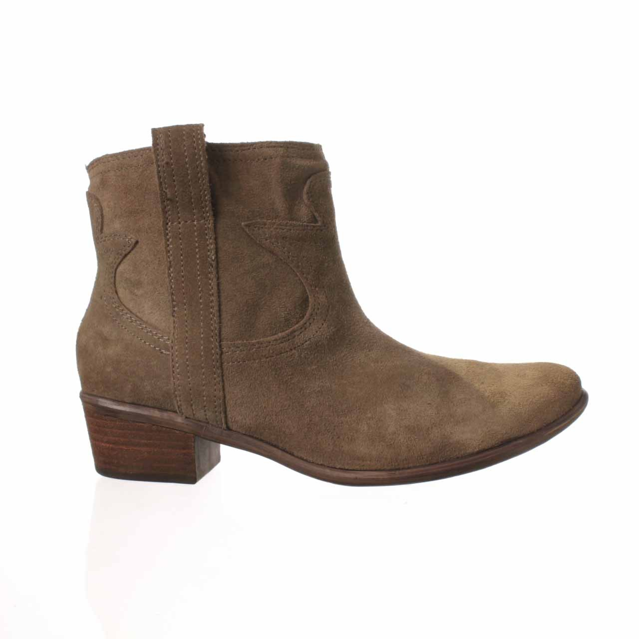 lucky brand terra ankle boot in brown lyst