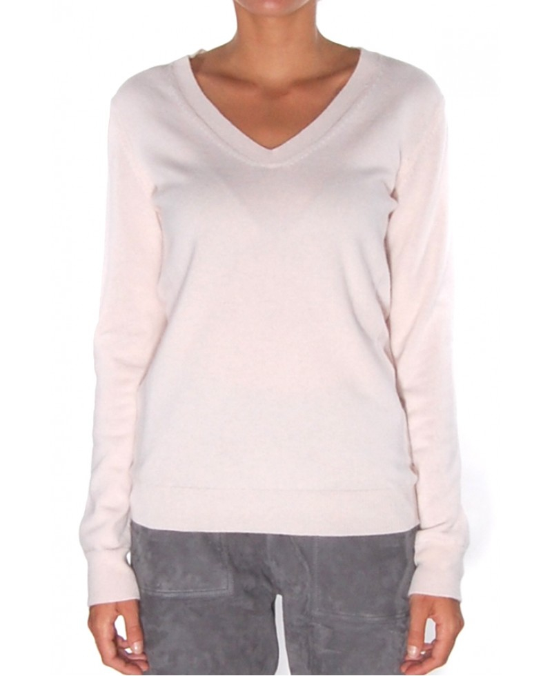 Closed Supreme Cashmere Sweater in Pink | Lyst