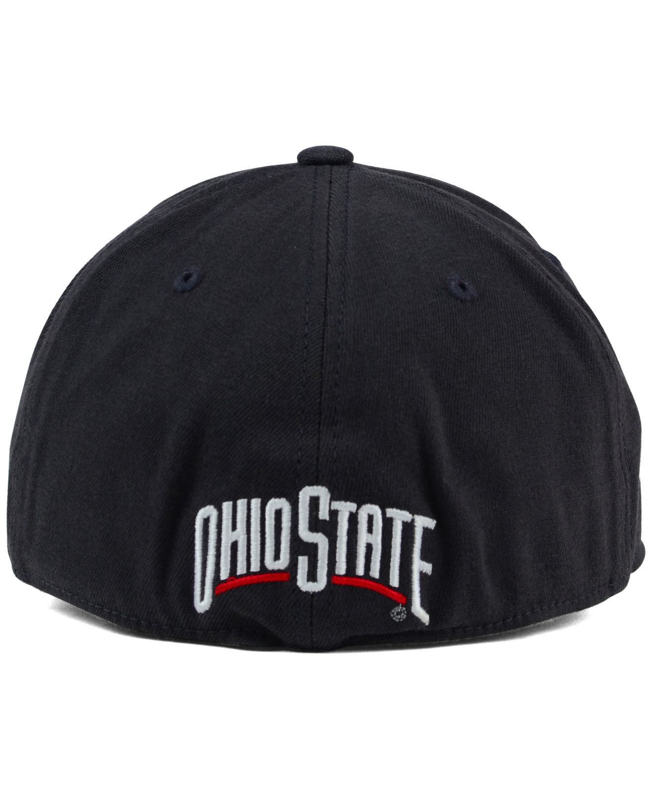 super popular a925e 11e3d germany nike ohio state buckeyes heather pom knit hat 300cc 9a325  purchase  lyst j america ohio state buckeyes stunt block stretch cap in acc86 50e26