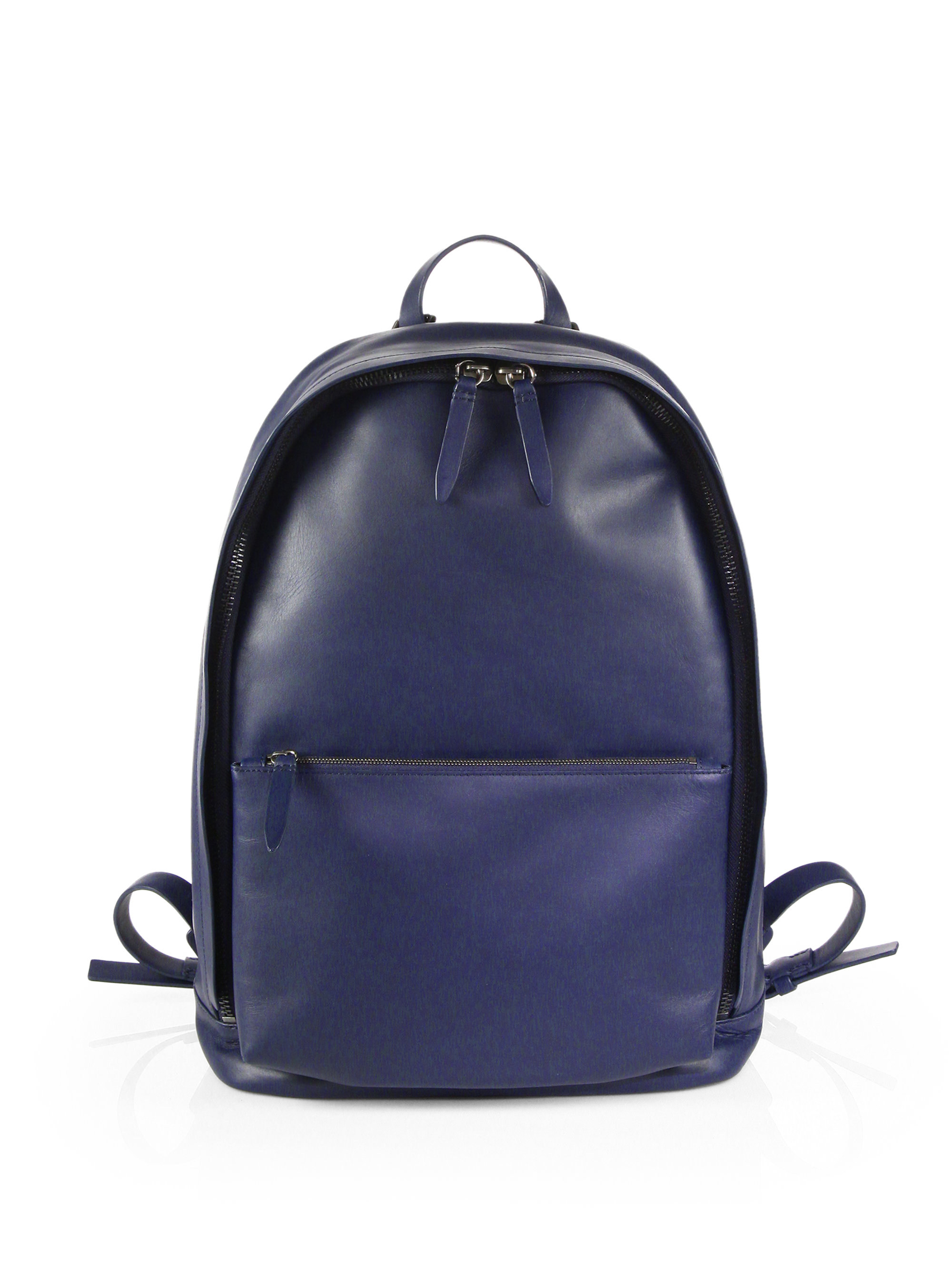 3.1 phillip lim 31 Hour Leather Backpack in Blue for Men | Lyst