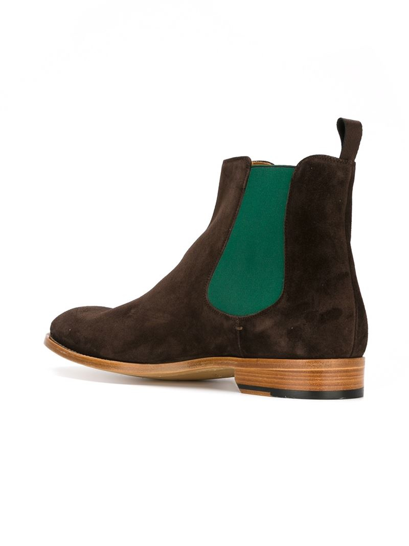paul smith classic chelsea boots in brown for men lyst. Black Bedroom Furniture Sets. Home Design Ideas