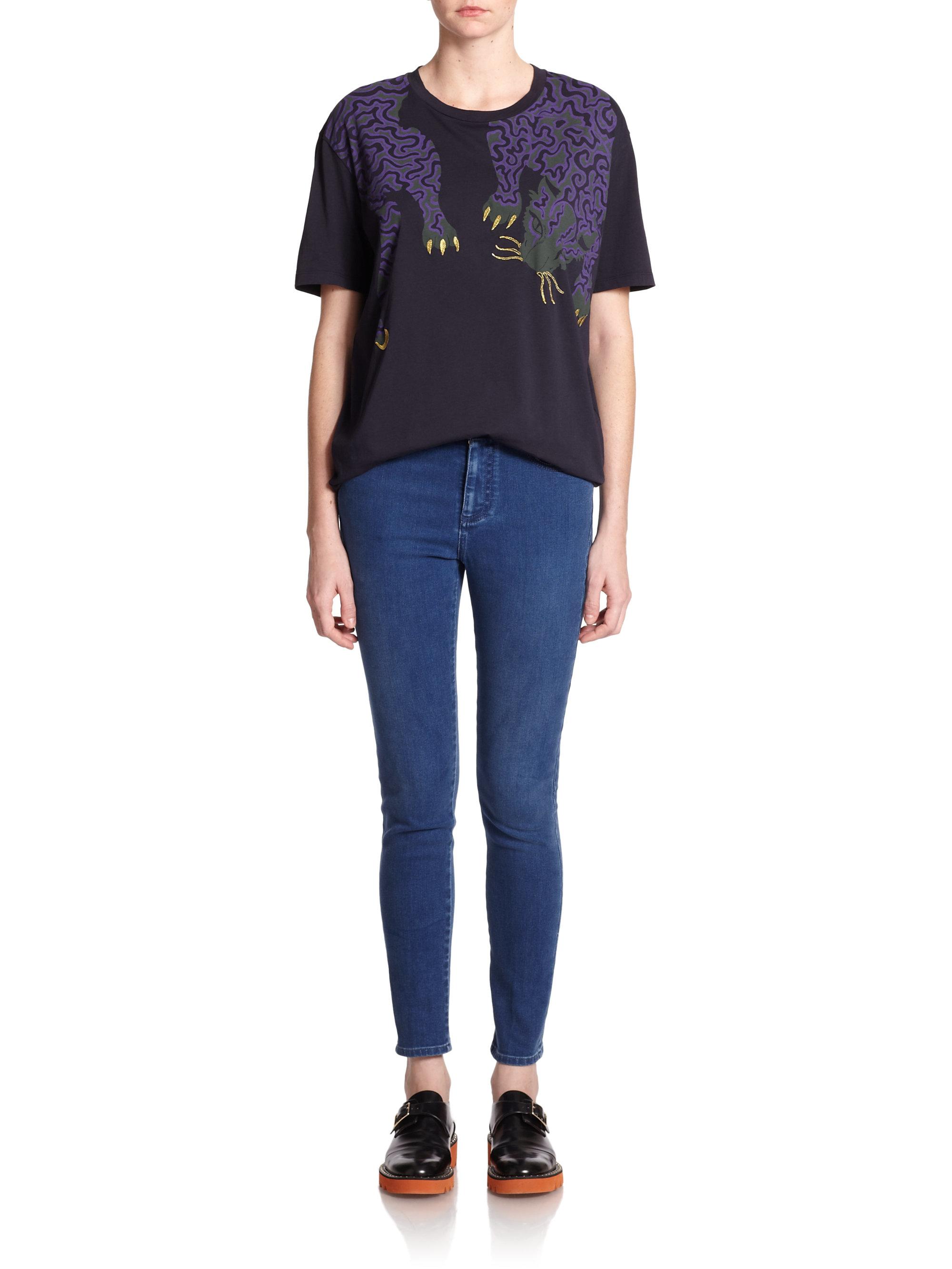 Curled shirt Stella McCartney Fashion Style Sale Online gZ3Fkk