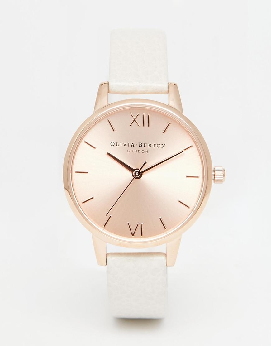 340937769f44 Olivia Burton Midi Dial Mink Watch in Pink - Lyst