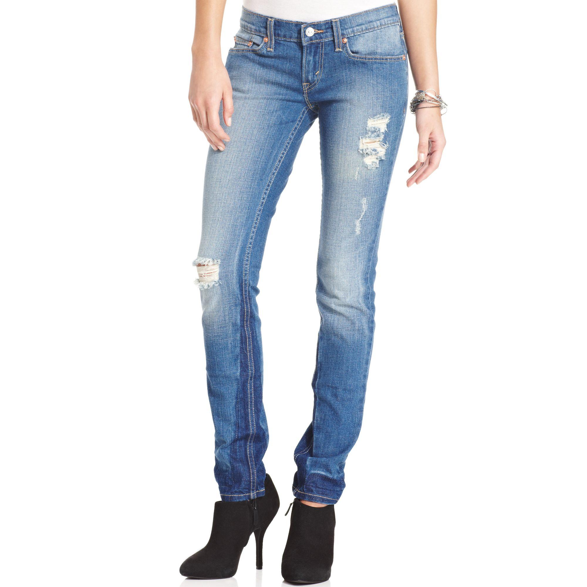destroyed skinny jeans for juniors kkclub 2016