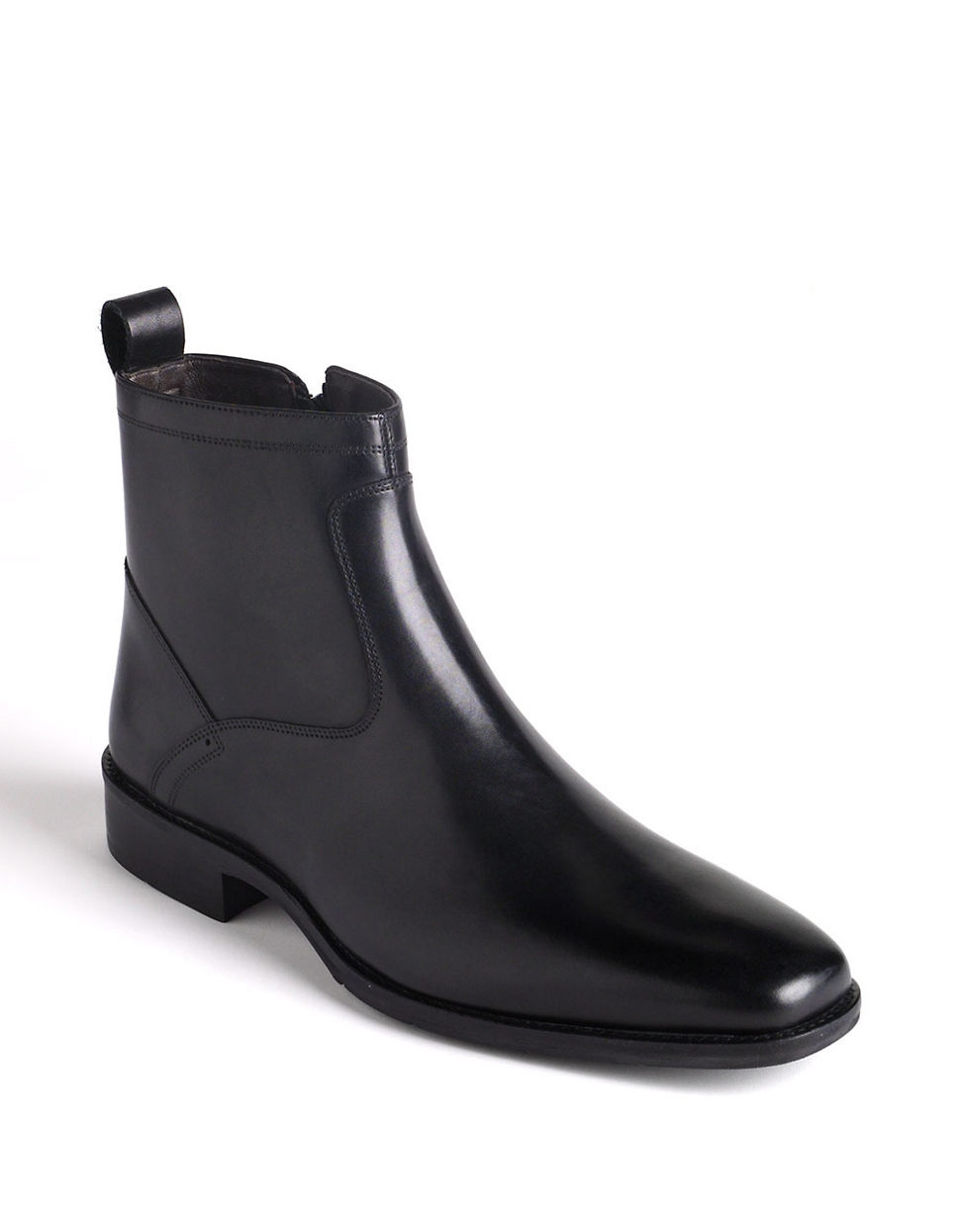 Johnston Amp Murphy Larsey Ankle Boots In Black For Men Lyst