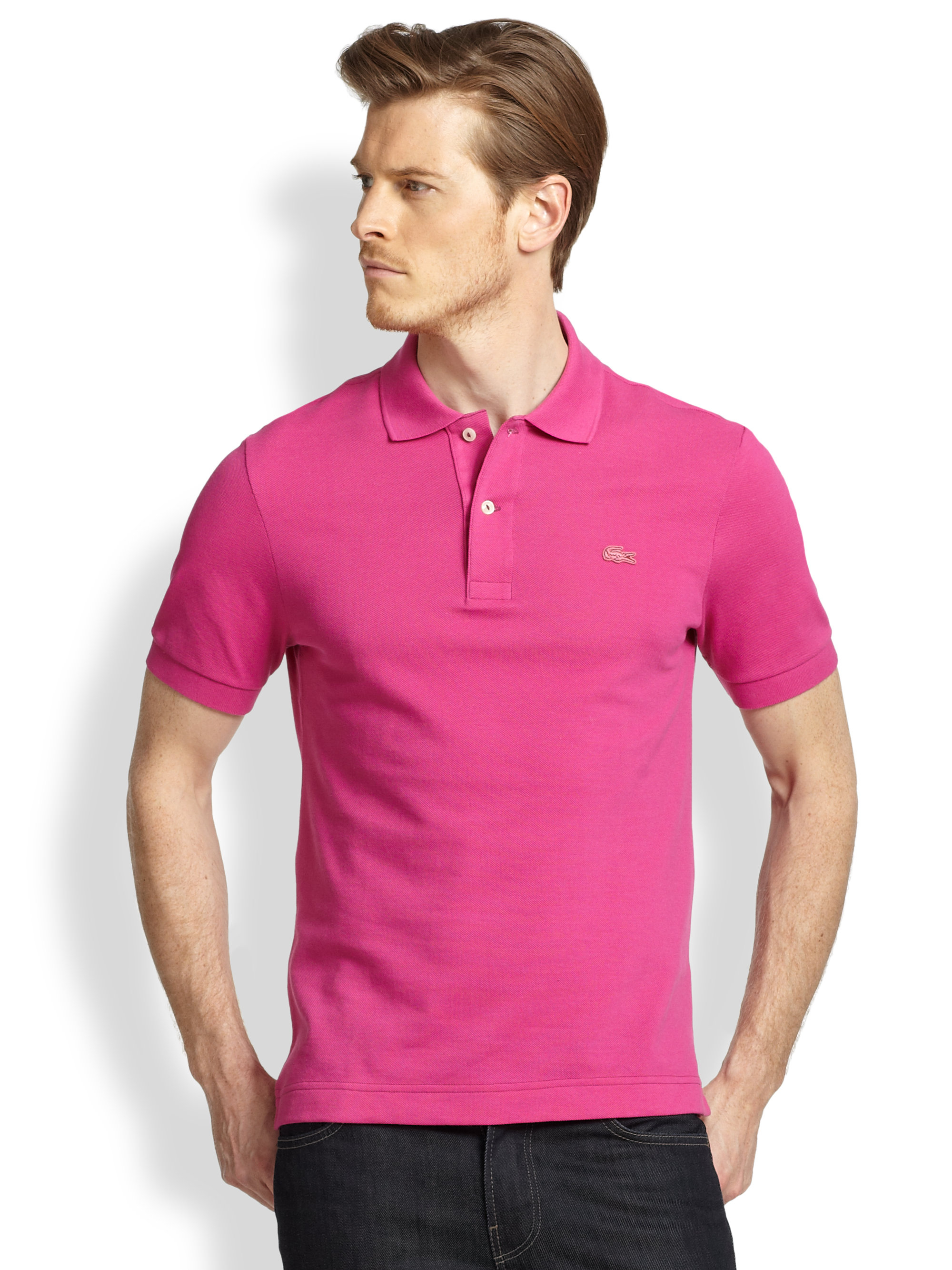 Lacoste Polo Shirts Pink - BCD Tofu House 8bf3f0ff88