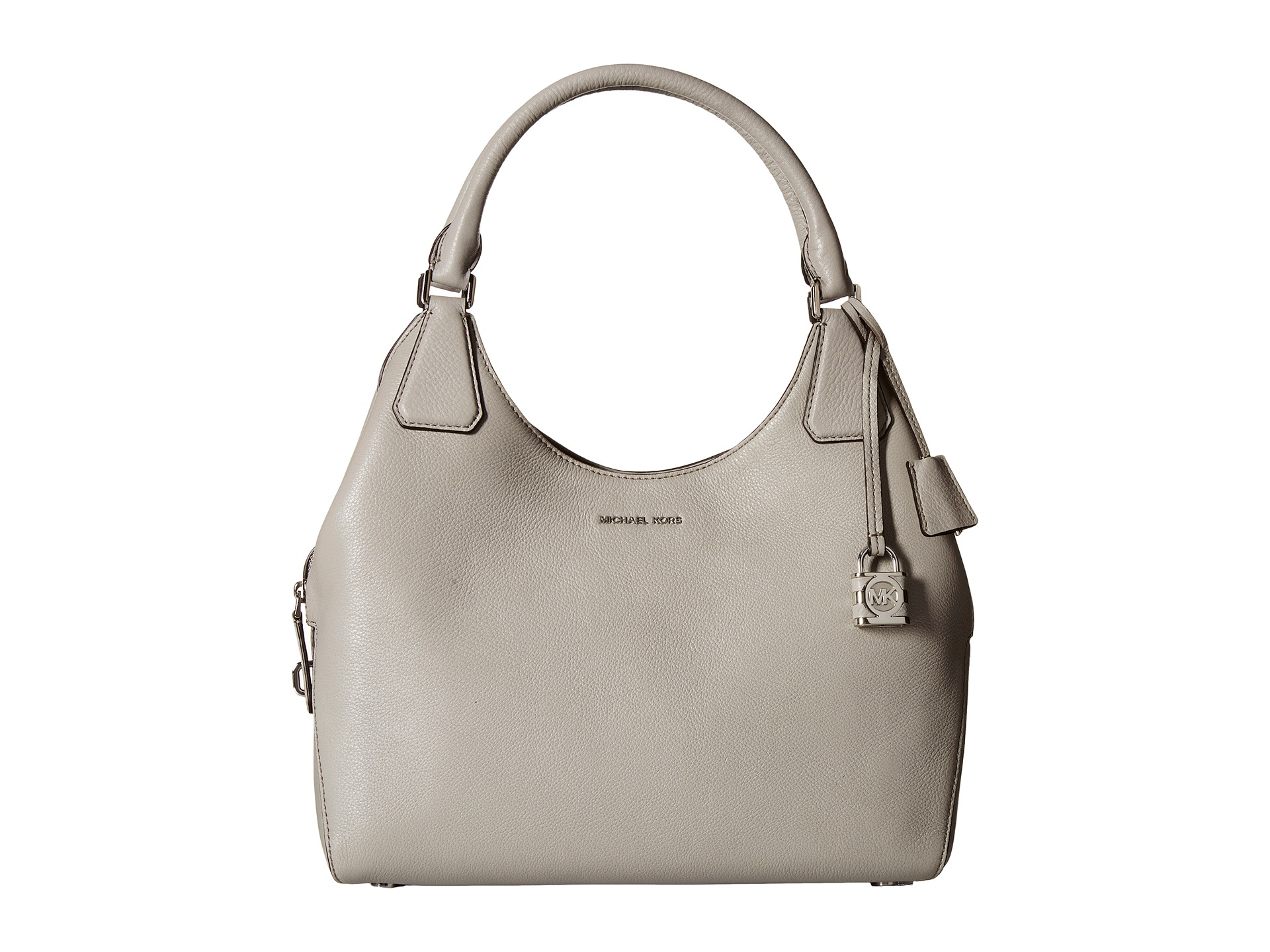 0fffae2db064e Lyst - MICHAEL Michael Kors Camille Lg Shoulder in Gray