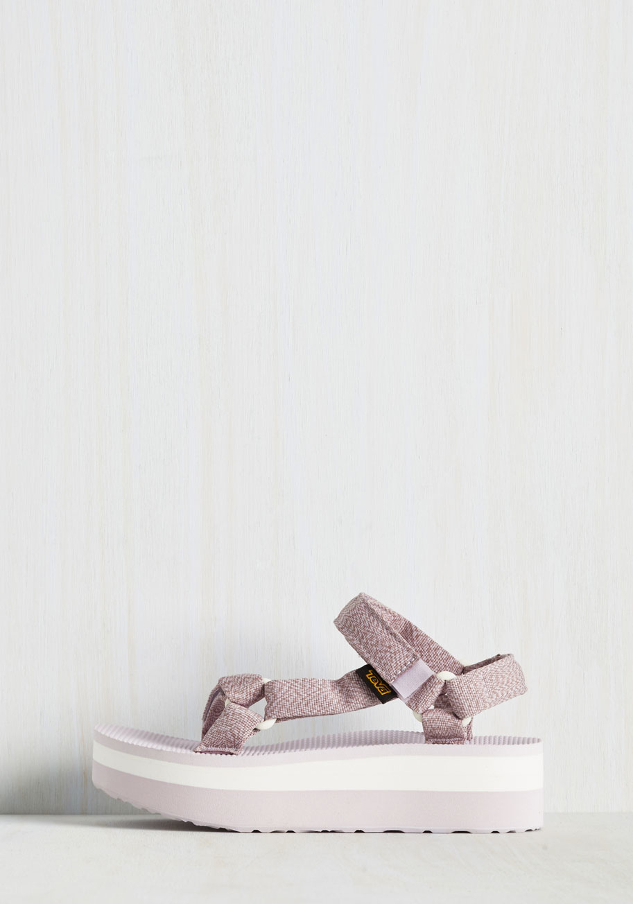 581145bb615 Lyst - Teva I Wanna Walk With You Sandal In Lavender in Purple