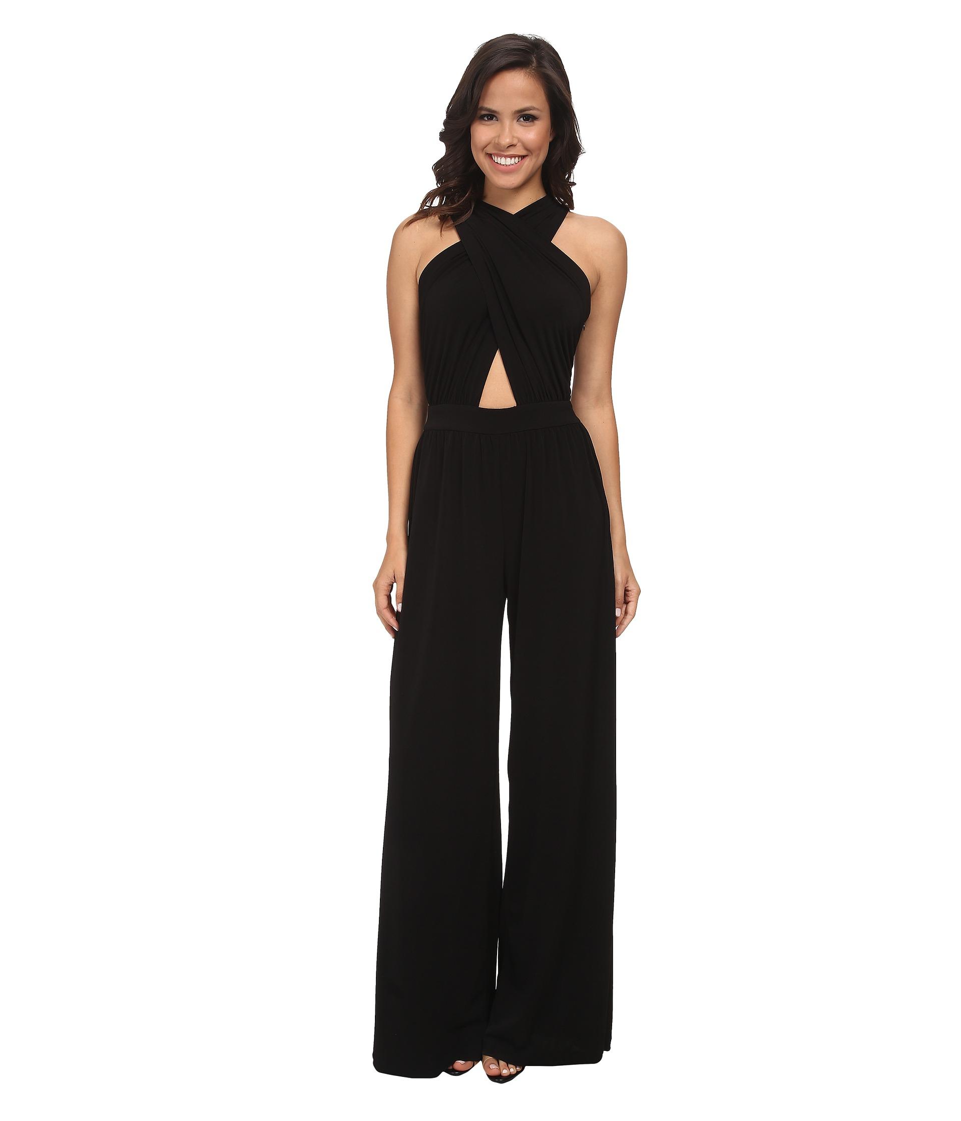 aa94e498de5 Lyst - Rachel Zoe Robbins Jumpsuit in Black