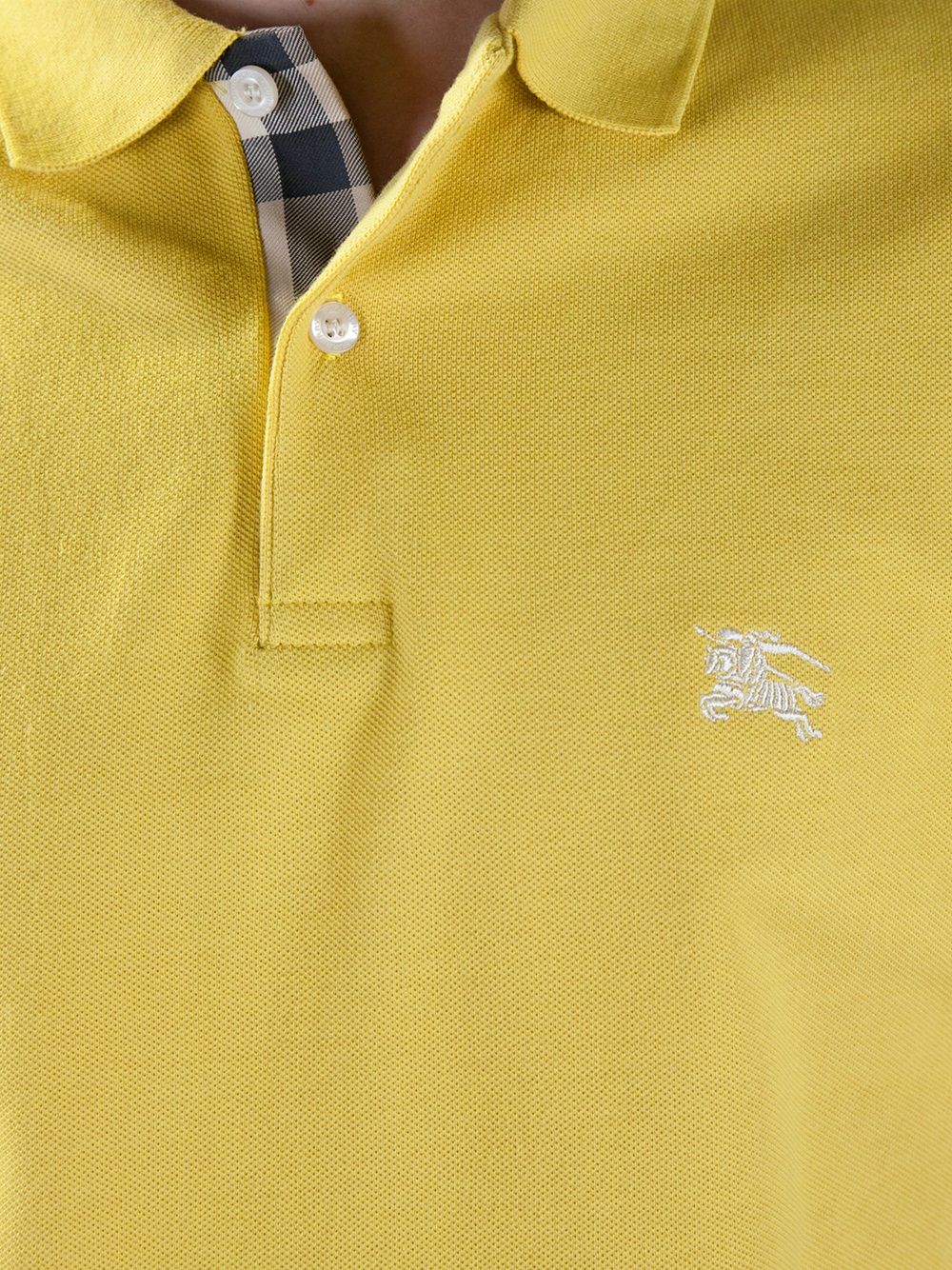 Burberry Brit Classic Polo Shirt in Yellow for Men - Lyst 5d67d9b864