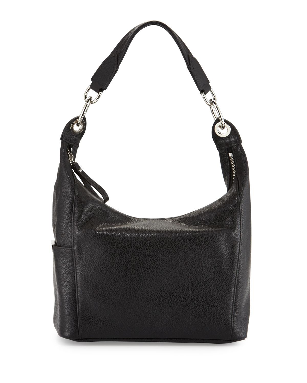 Longchamp Le Foulonne Small Hobo Bag in Black | Lyst