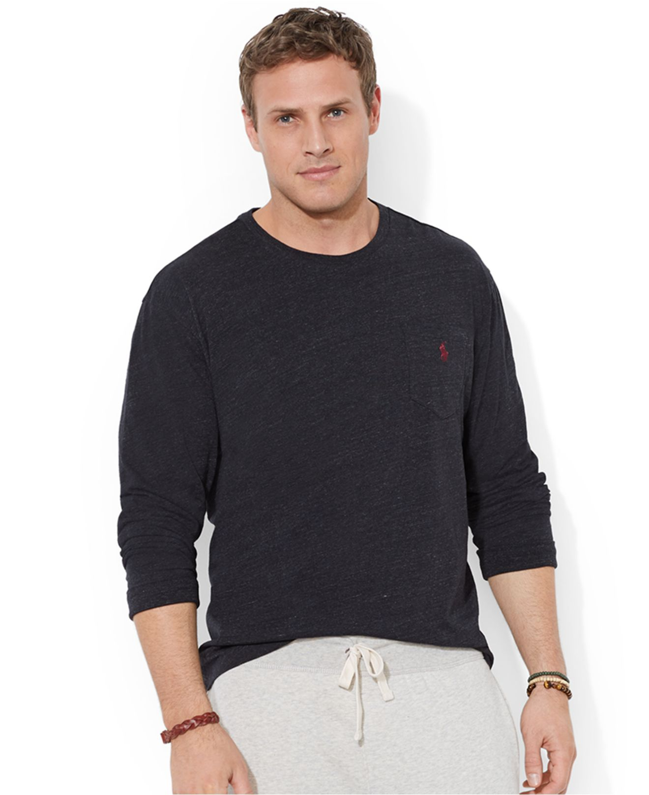 Ralph Lauren Mens Pocket T Shirts Ralph Lauren Big And