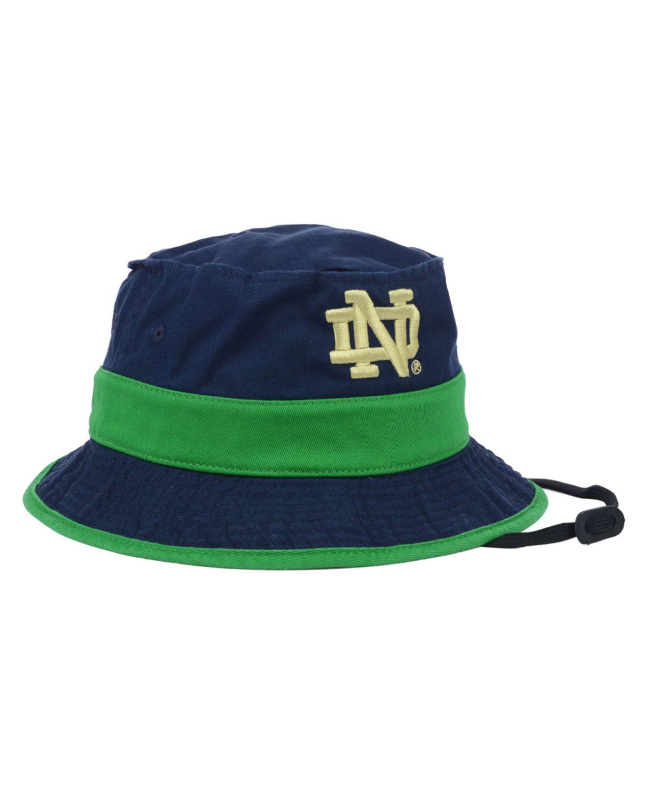 ... order lyst adidas notre dame fighting irish cord bucket hat in blue for  men f7e57 0abbe 3c79cf865da0